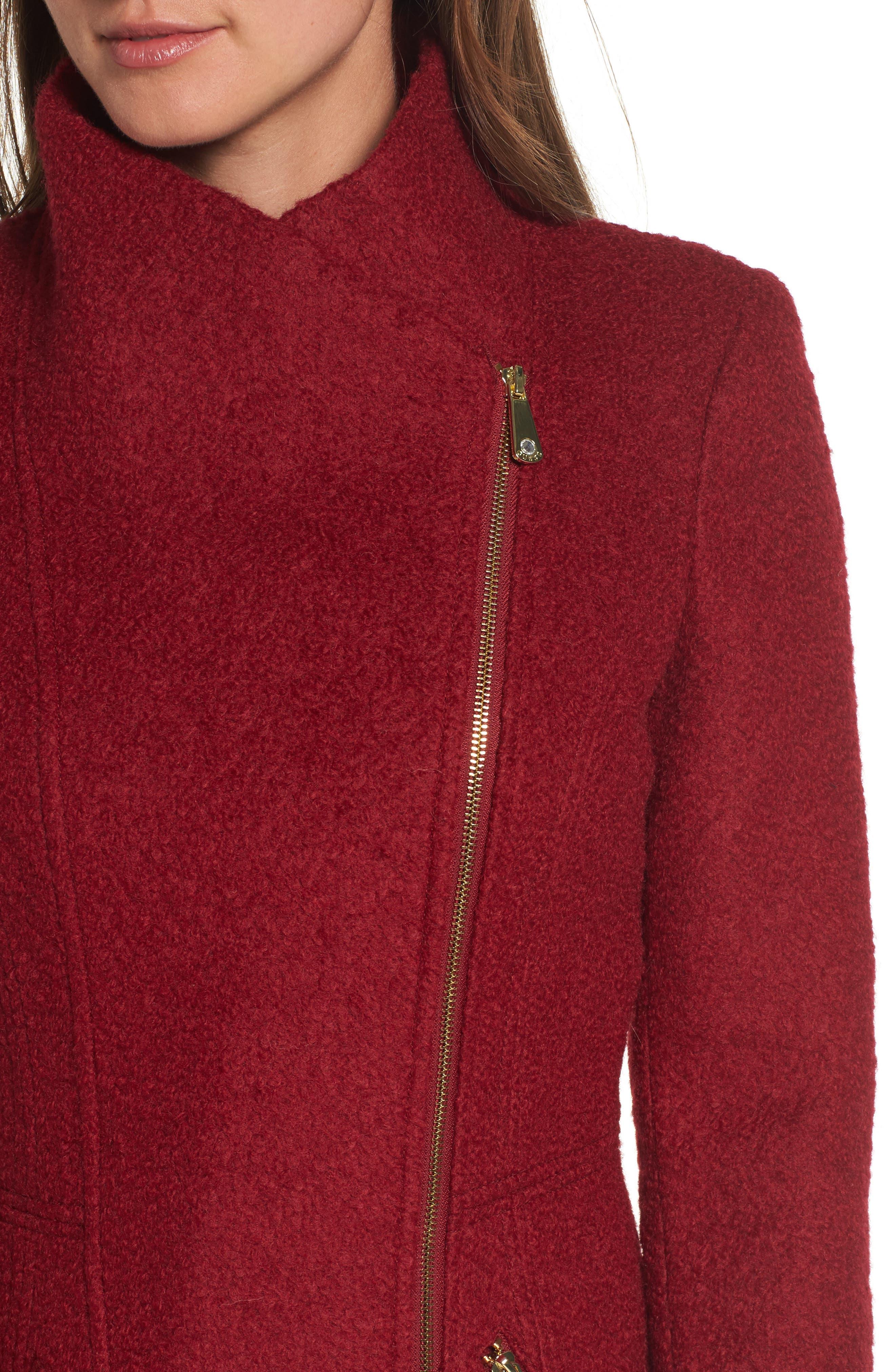 Alternate Image 4  - Guess Asymmetrical Coat