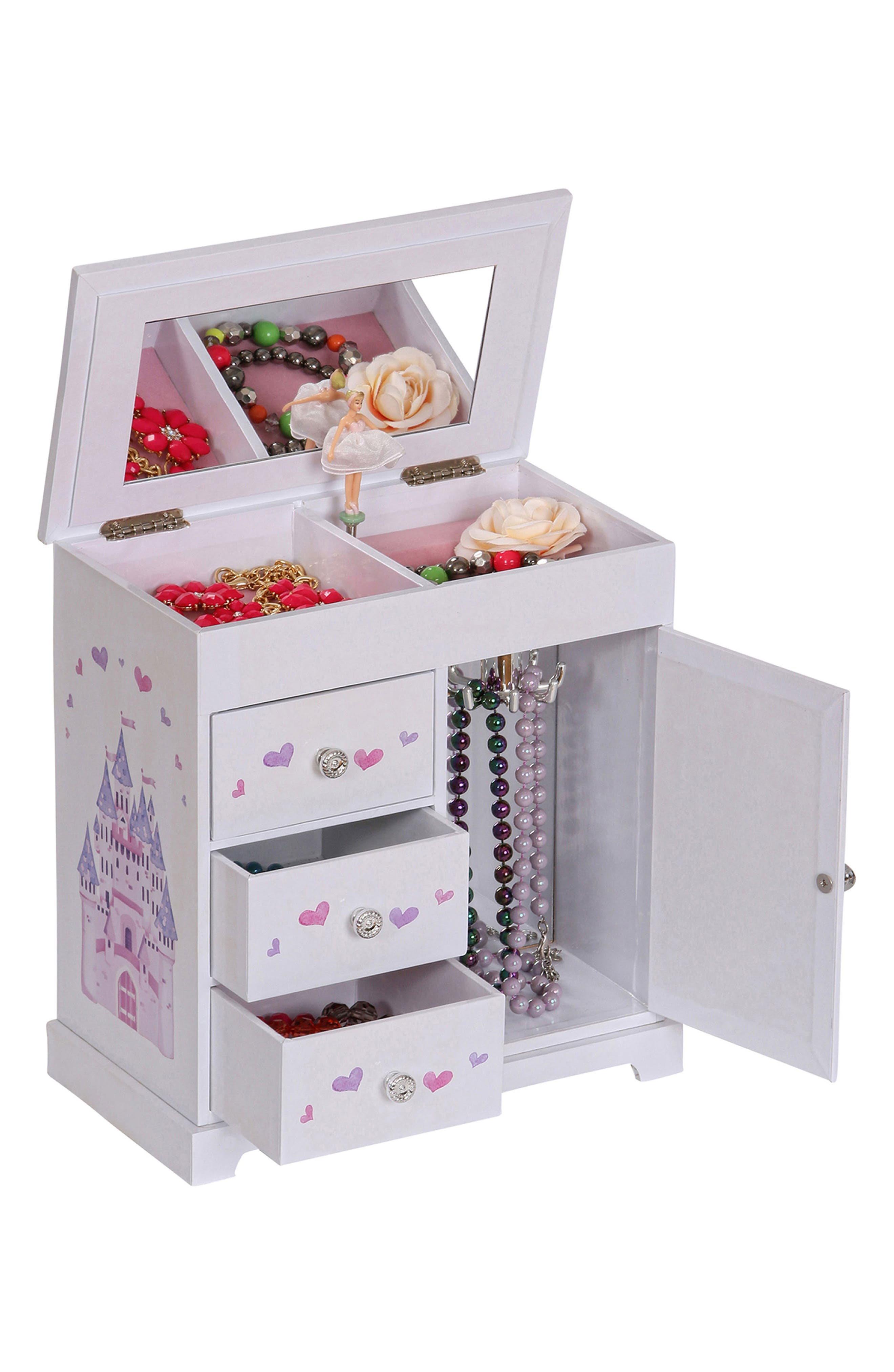 Alternate Image 6  - Mele & Co. Adalyn Musical Jewelry Box (Girls)
