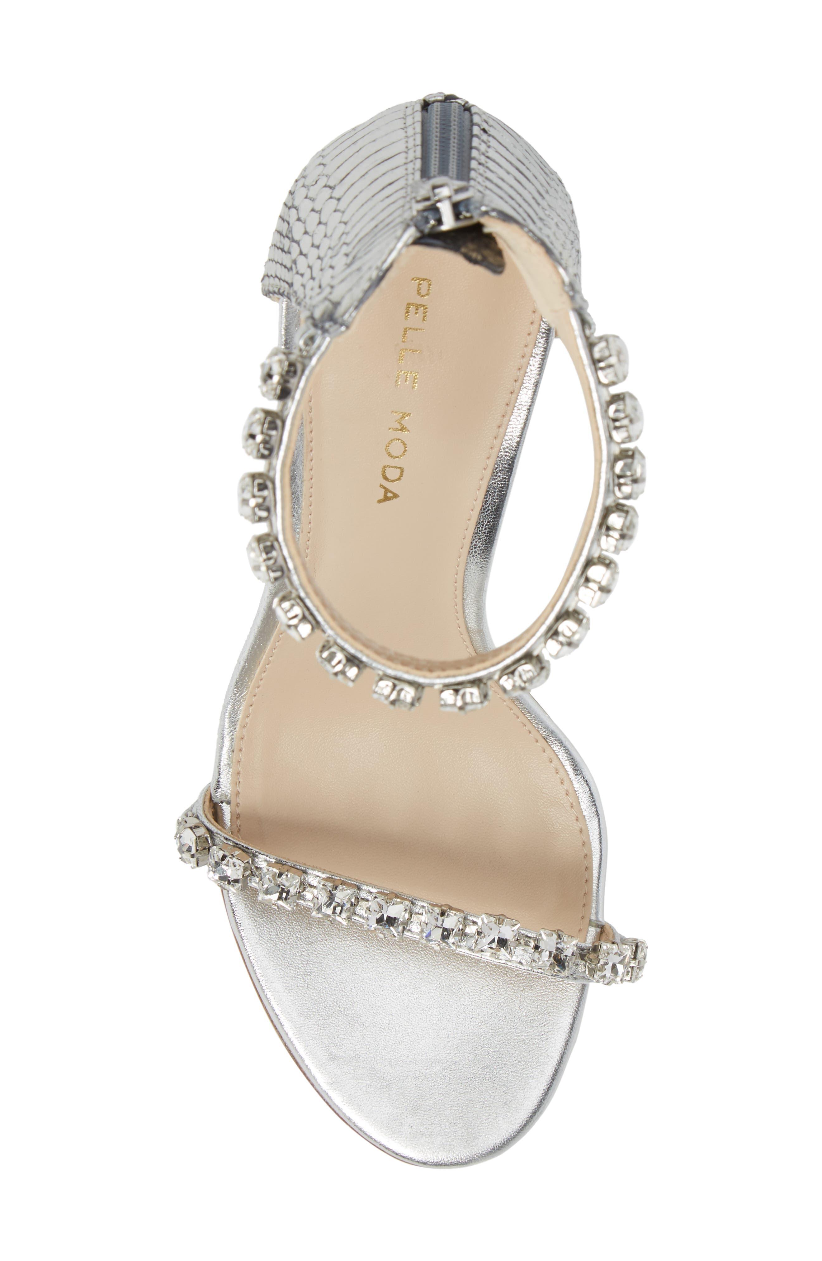 Alternate Image 5  - Pelle Moda Frisk Embellished Sandal (Women)