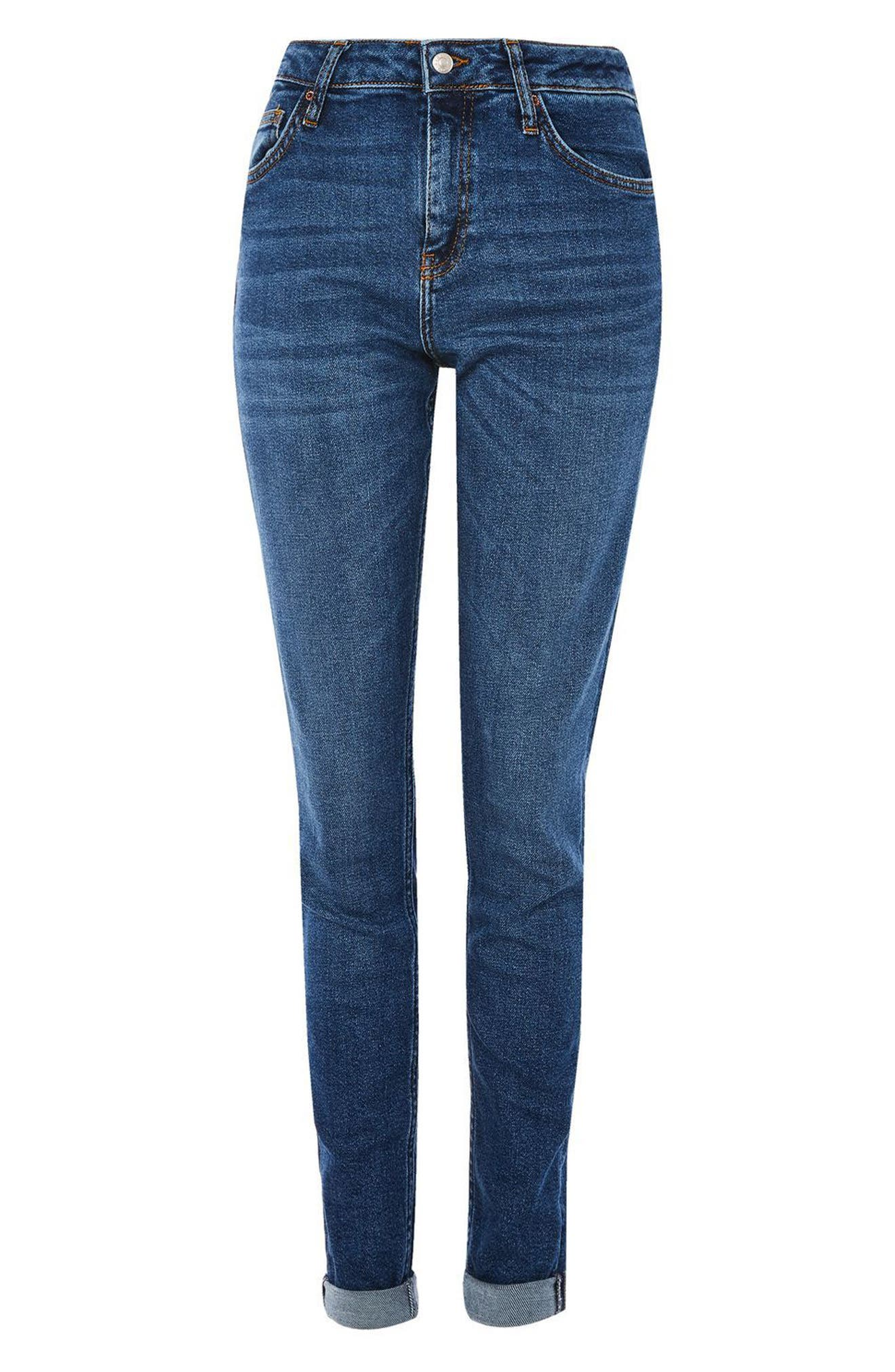 Alternate Image 4  - Topshop Lucas Relaxed Fit Jeans (Tall)