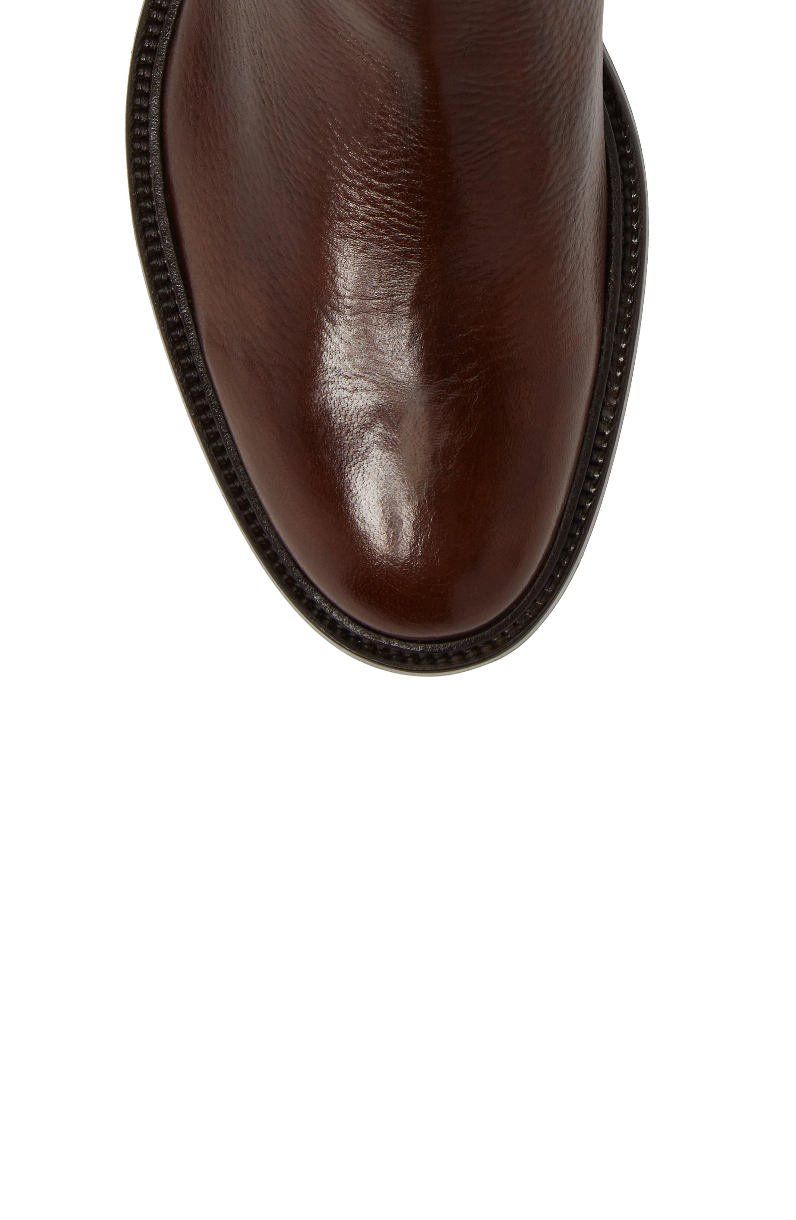 Greyson Chelsea Boot,                             Alternate thumbnail 5, color,                             Cognac