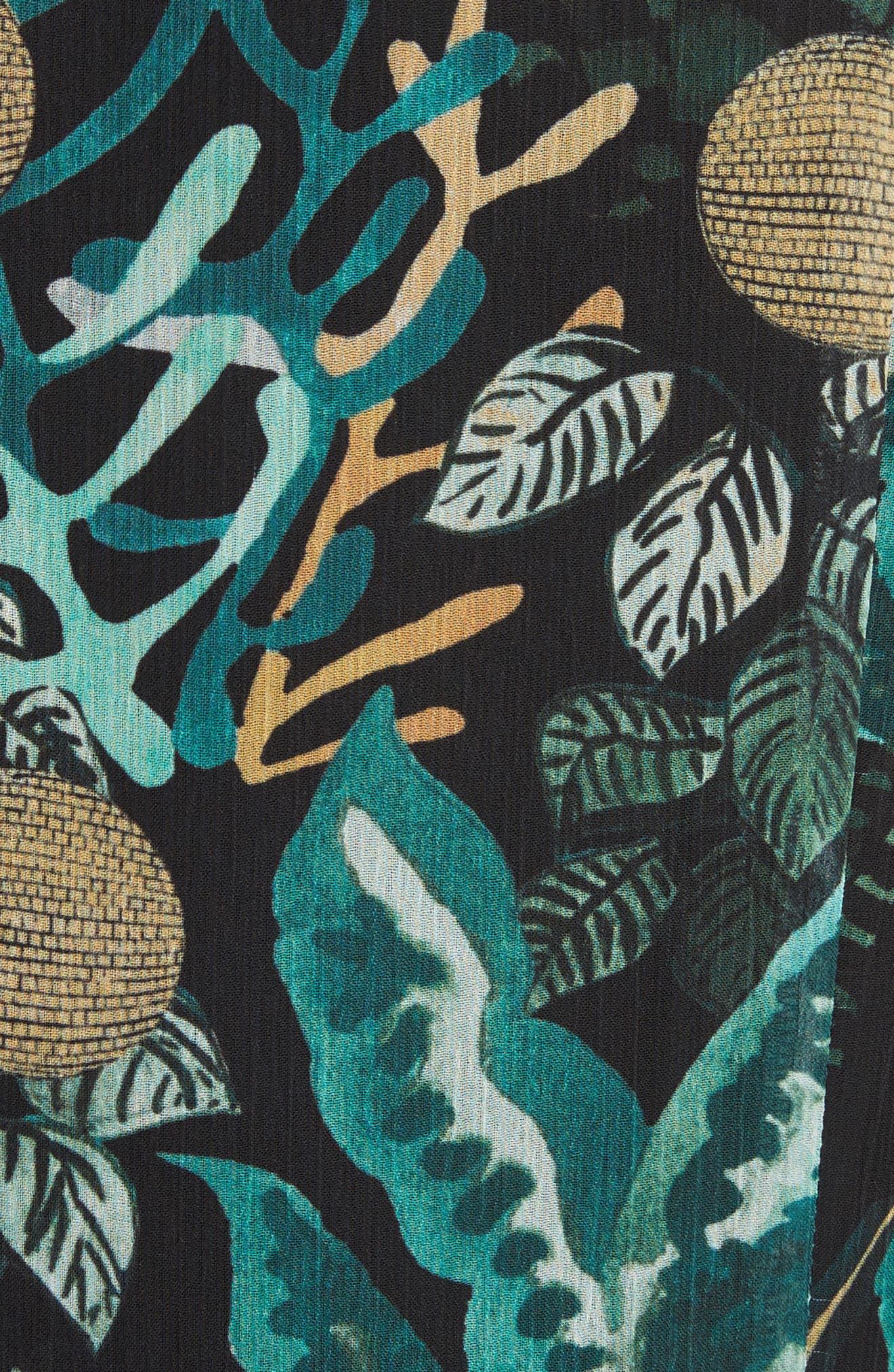 Alternate Image 5  - GREY Jason Wu Print Drop Waist Drawstring Dress