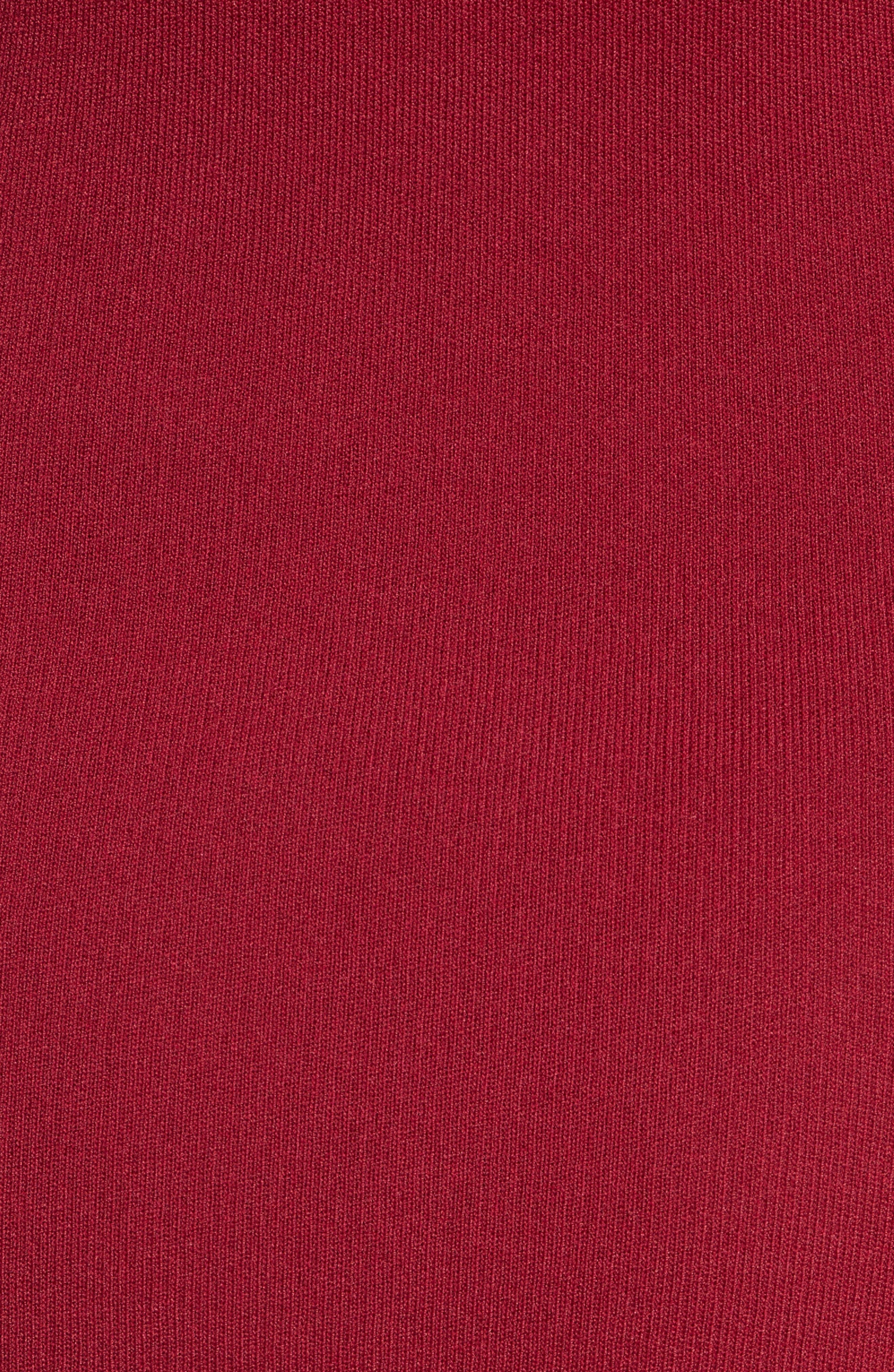 Alternate Image 5  - Jonathan Simkhai Slashed Knit Ruffle Off the Shoulder Dress