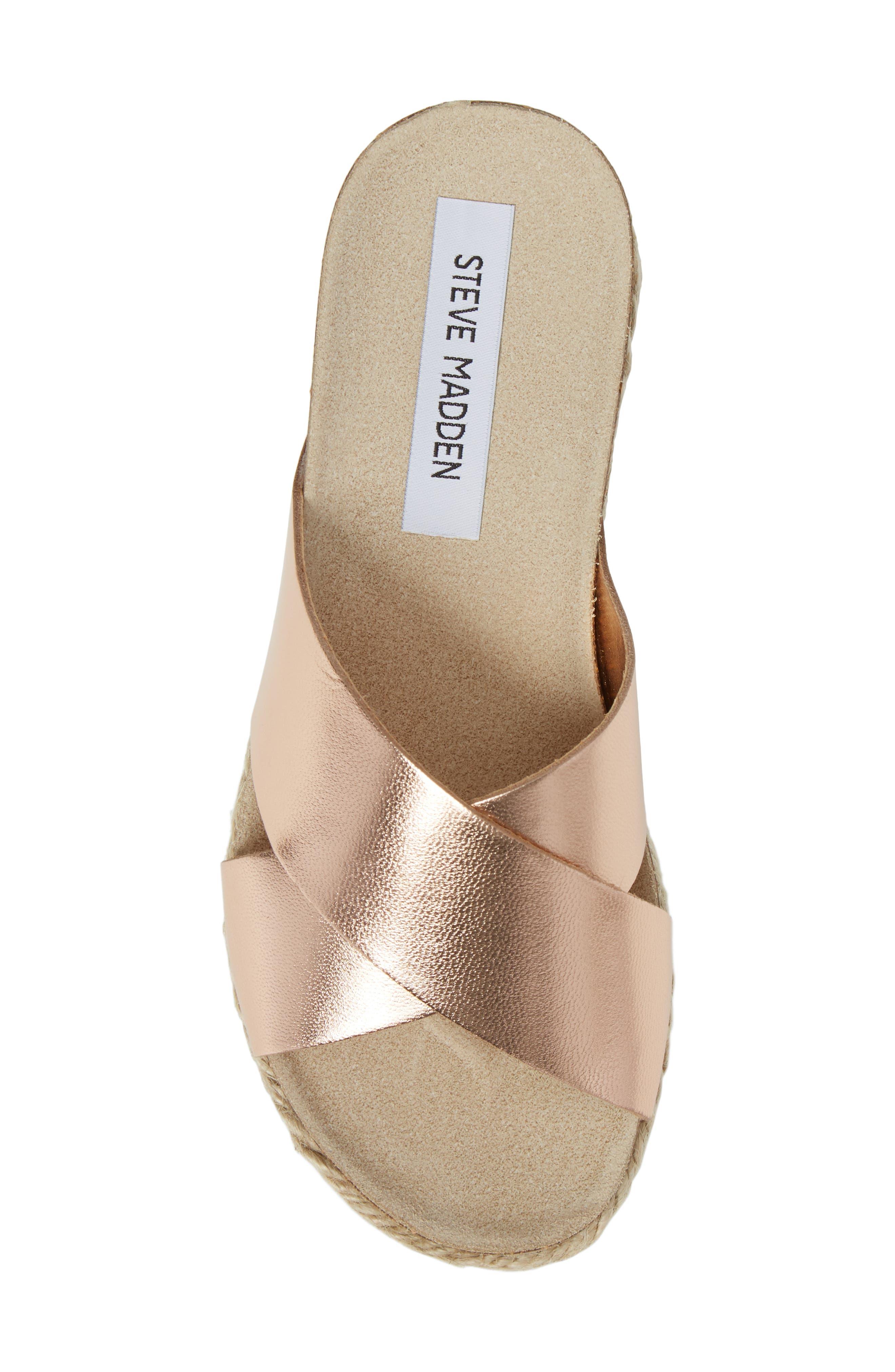 Alternate Image 5  - Steve Madden 'Arran' Espadrille Platform Sandal (Women)