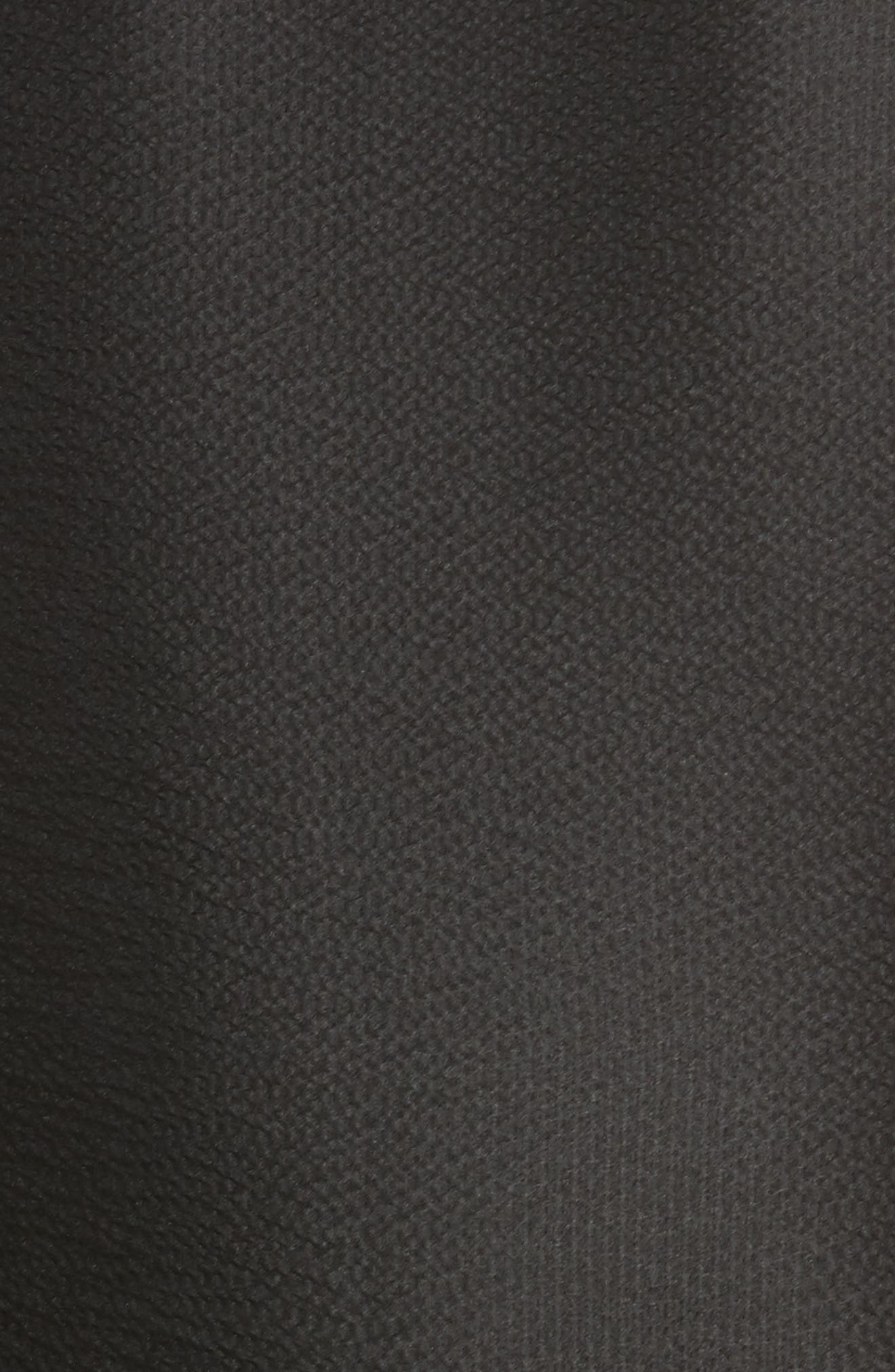 Chelsea Silk Cape Scarf,                             Alternate thumbnail 6, color,                             Black