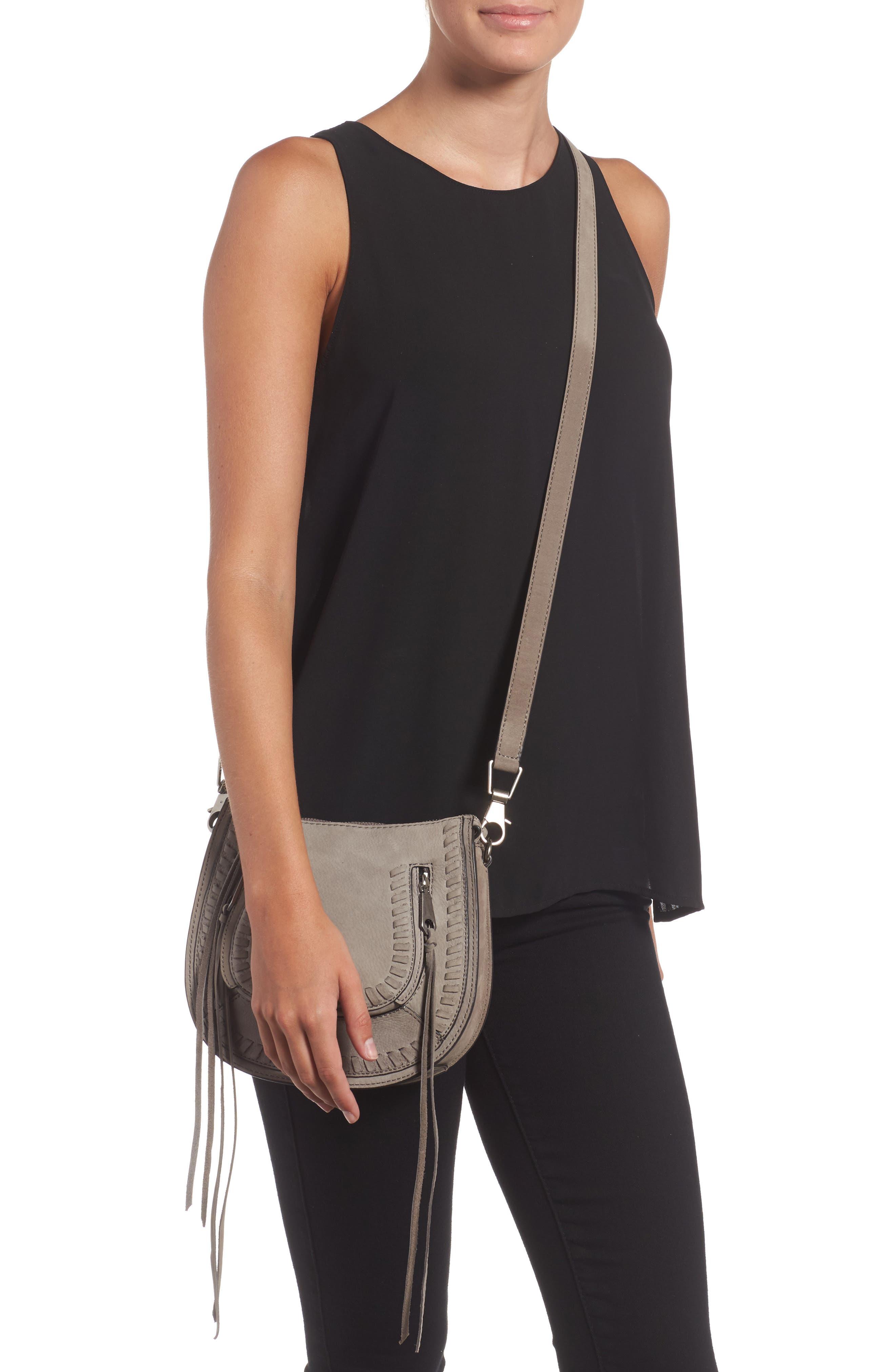 Alternate Image 2  - Rebecca Minkoff Mini Vanity Saddle Bag