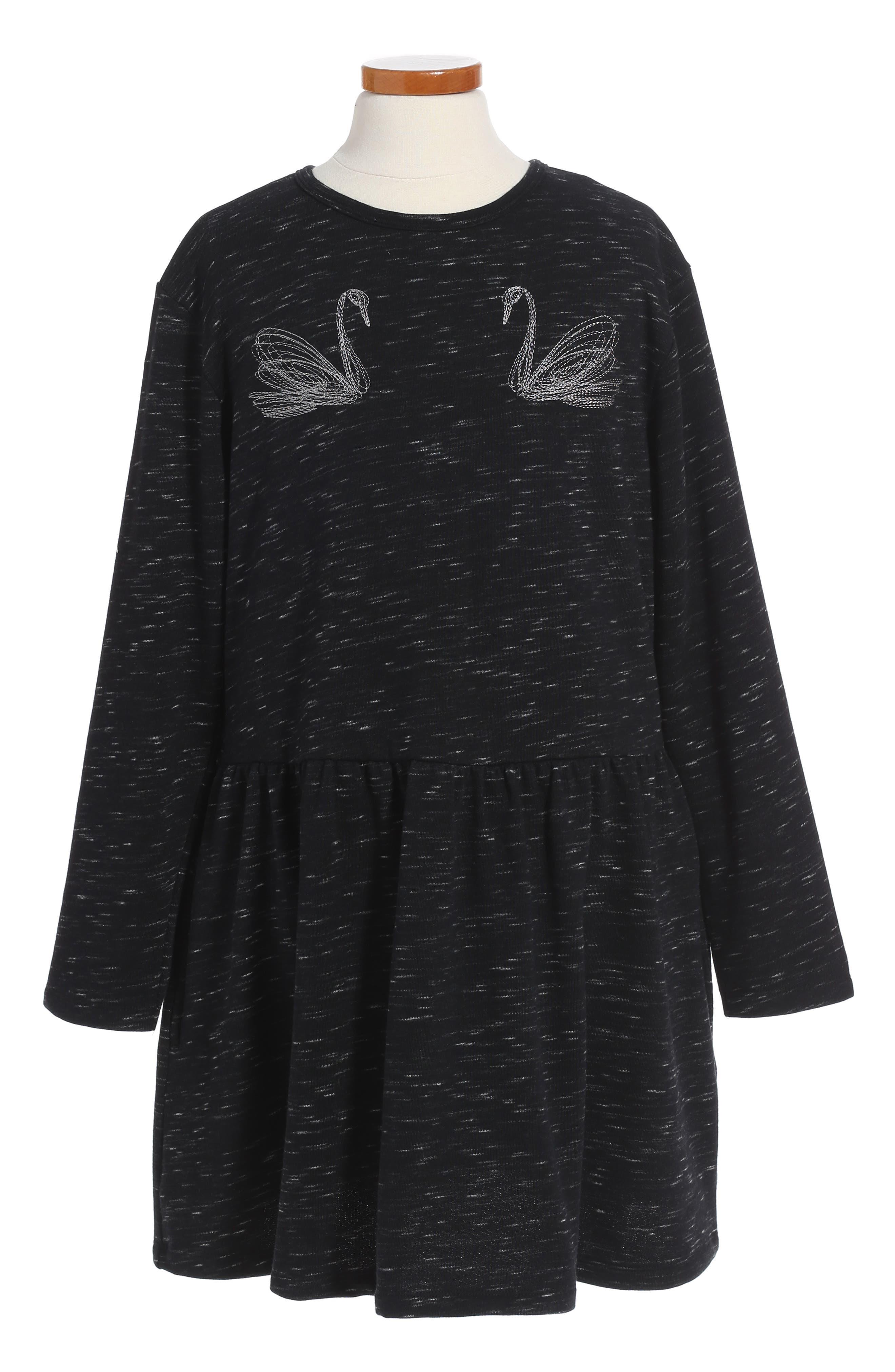 Main Image - Stella McCartney Kids Marion Embroidered Dress (Toddler Girls, Little Girls & Big Girls)