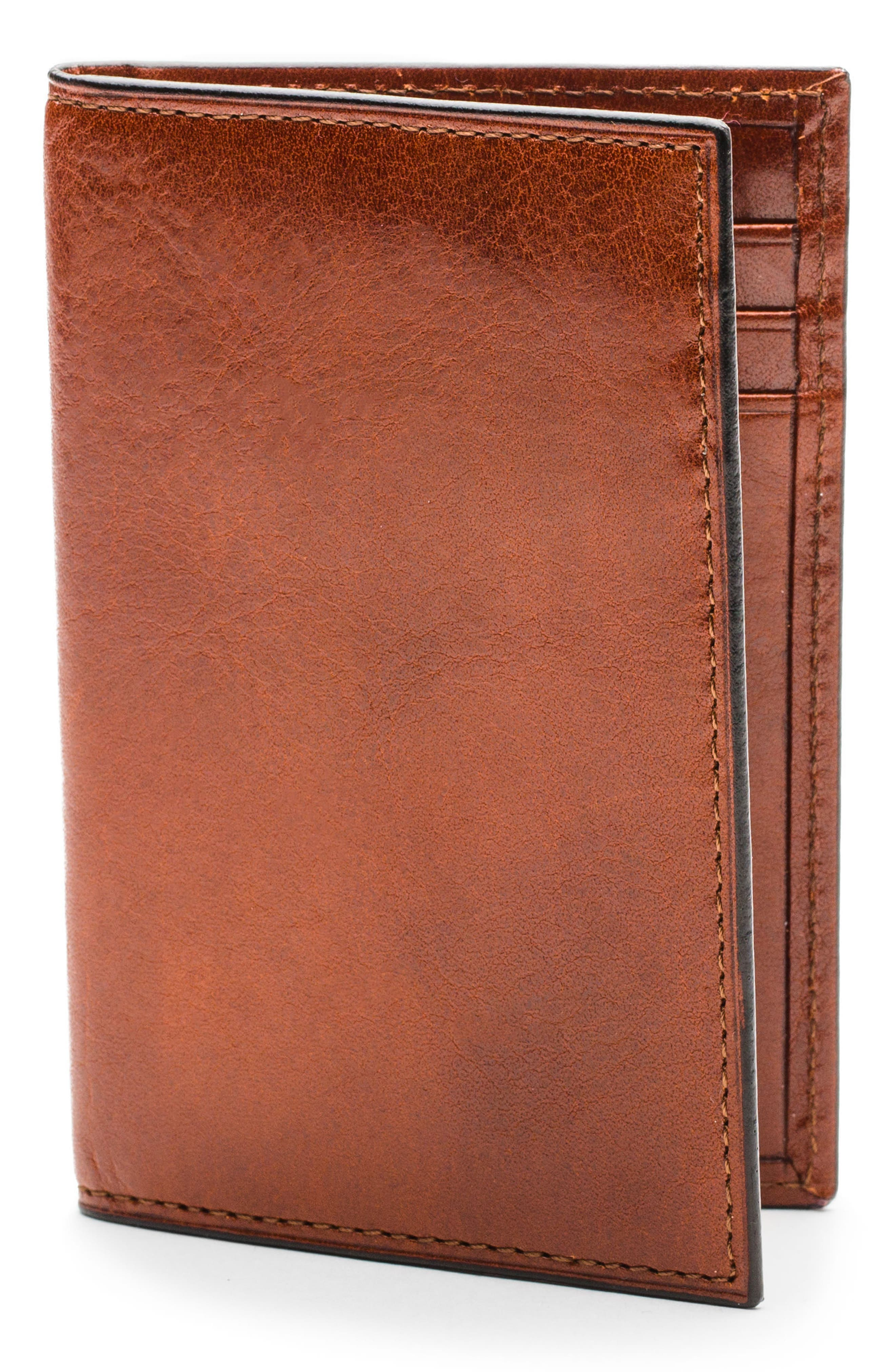 BOSCA Aged Leather Card Case