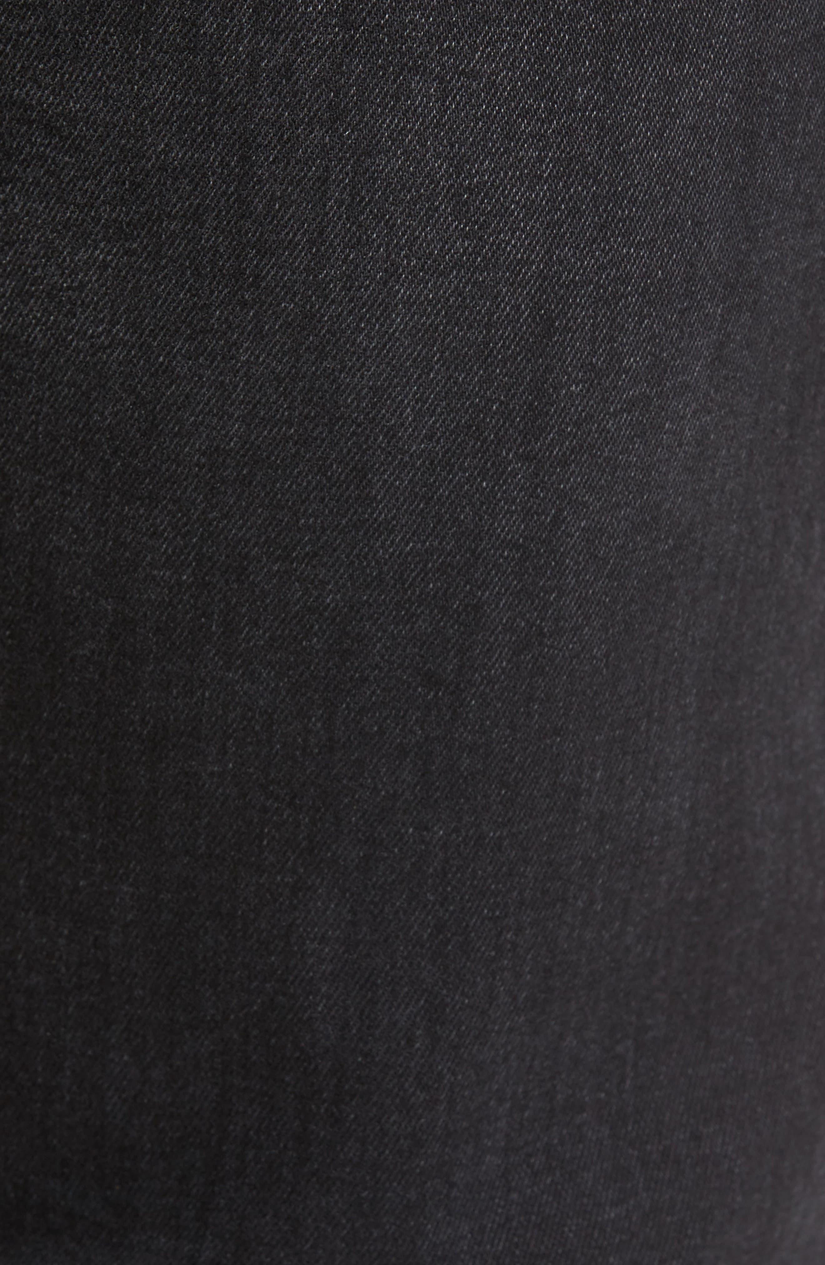 Alternate Image 5  - DL1961 Nick Slim Fit Jeans (Jet)