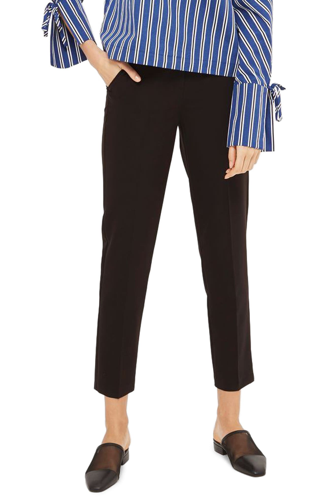 Alternate Image 1 Selected - Topshop High Waist Cigarette Trousers