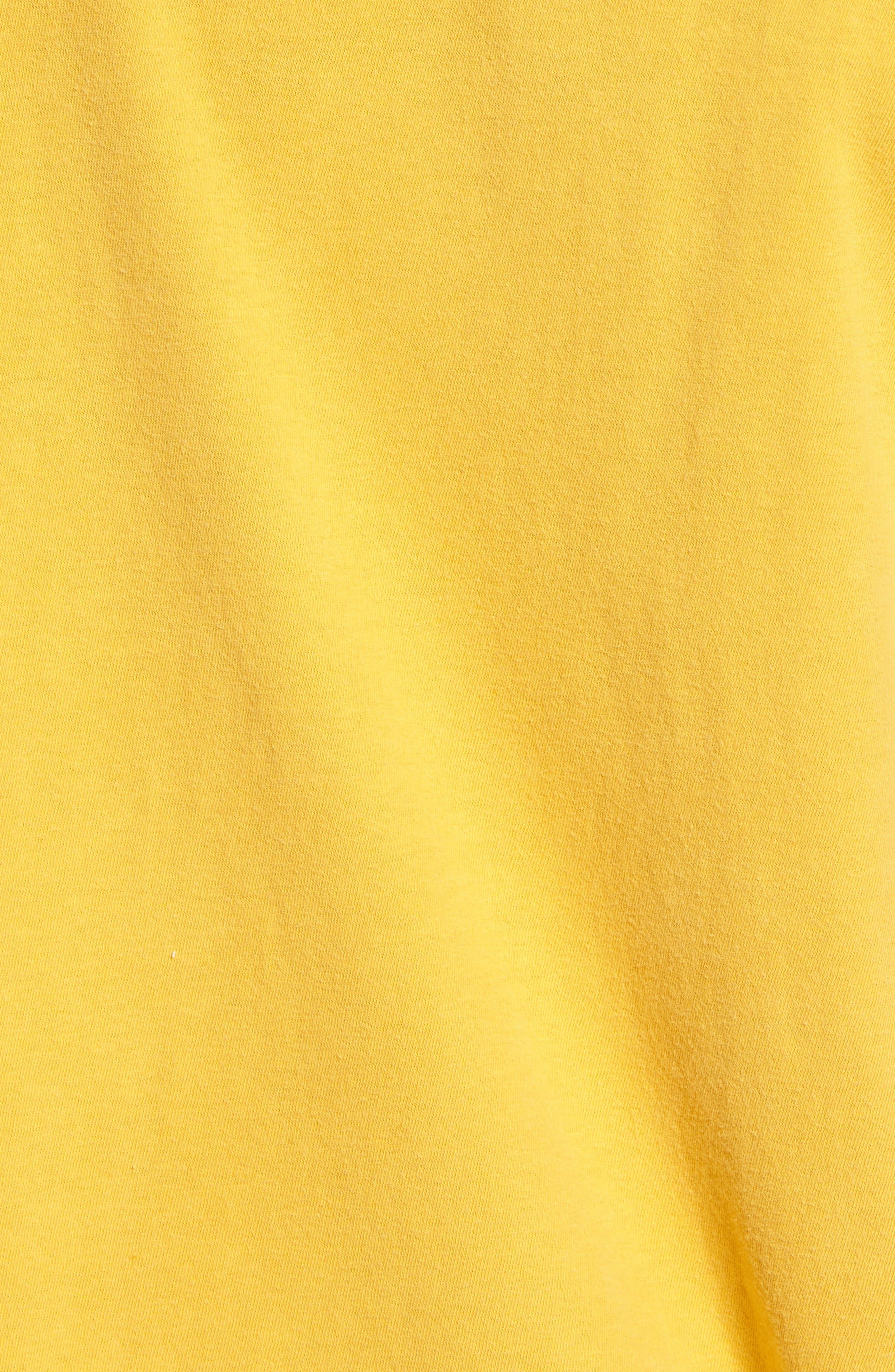 Motel Spring T-Shirt,                             Alternate thumbnail 5, color,                             Vintage Gold