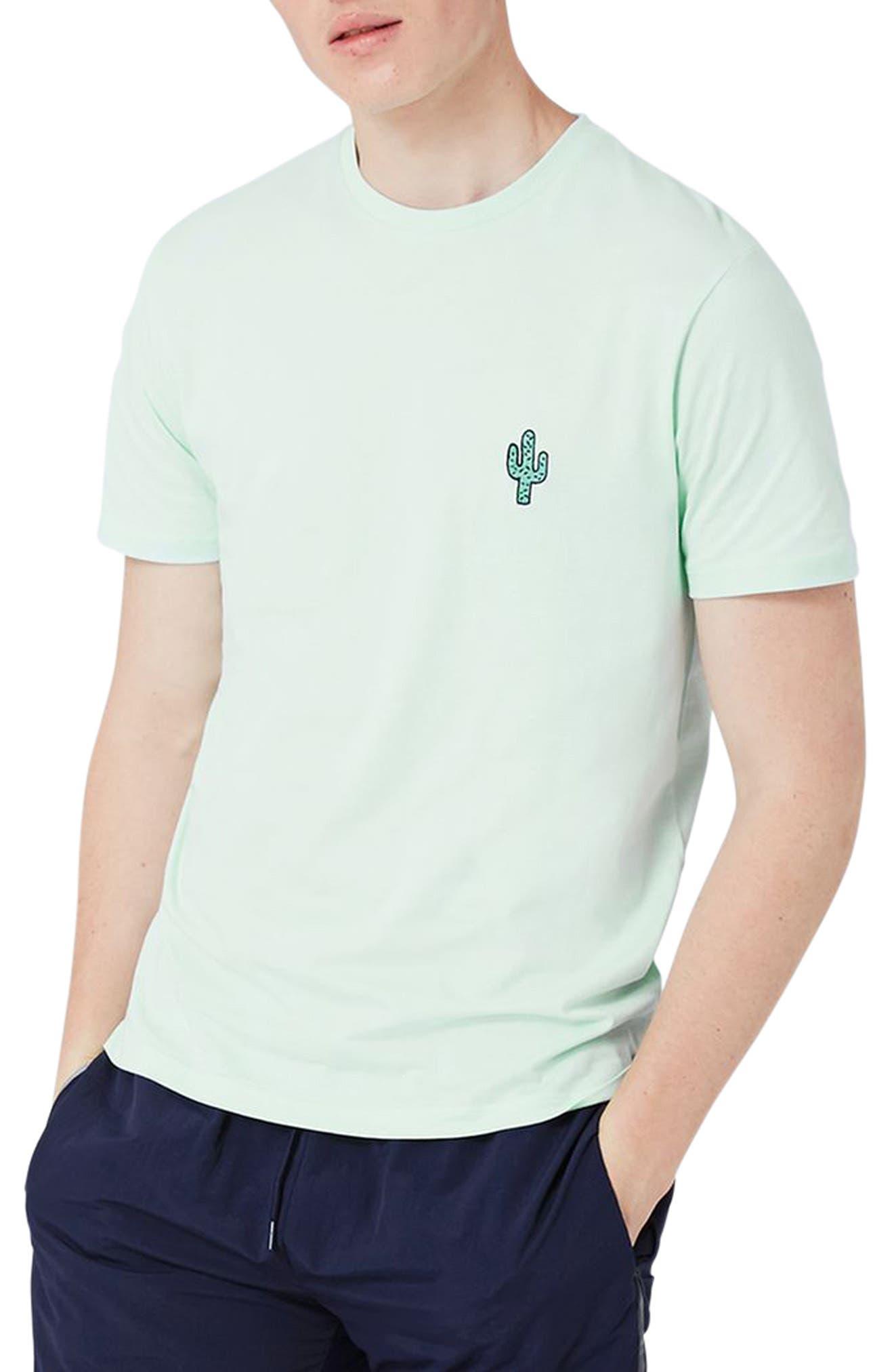 Topman Cactus Patch T-Shirt