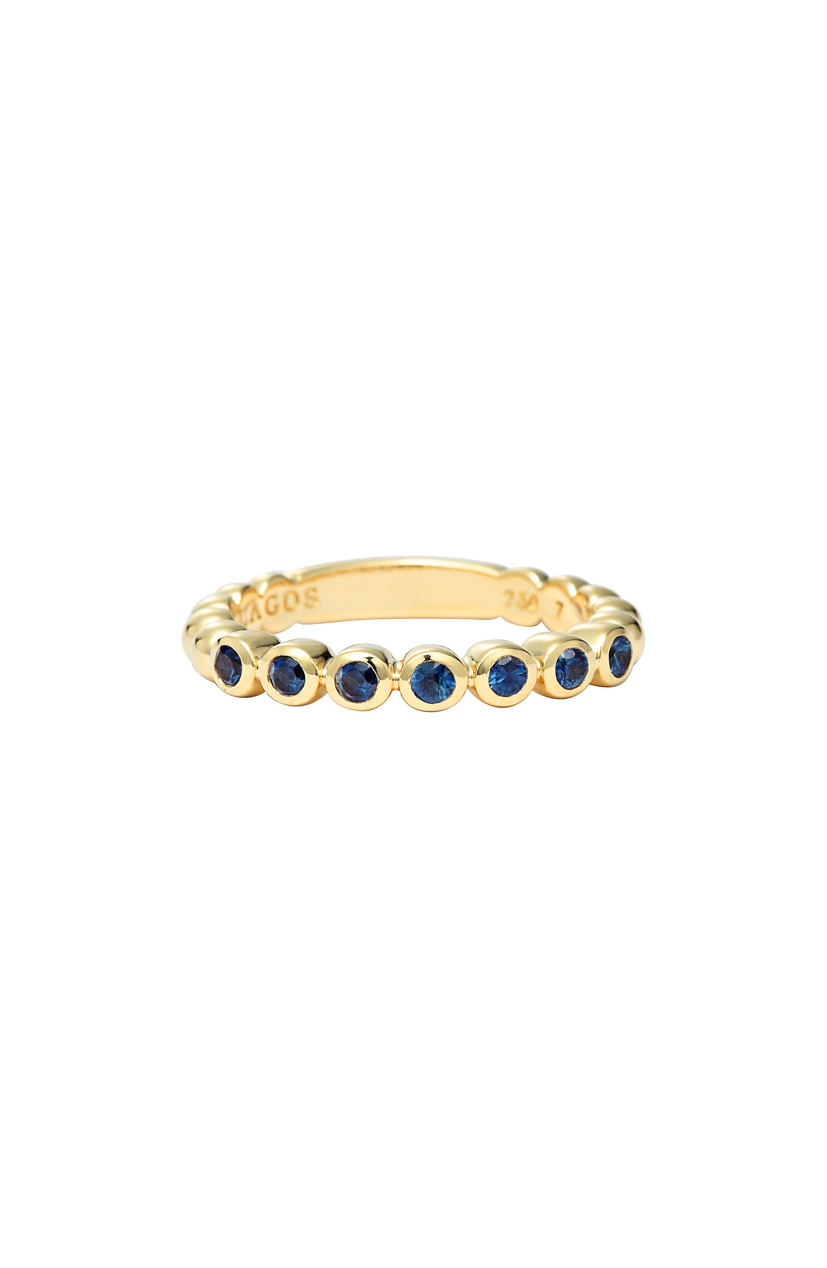 Alternate Image 2  - LAGOS Covet Stone Caviar Stack Ring
