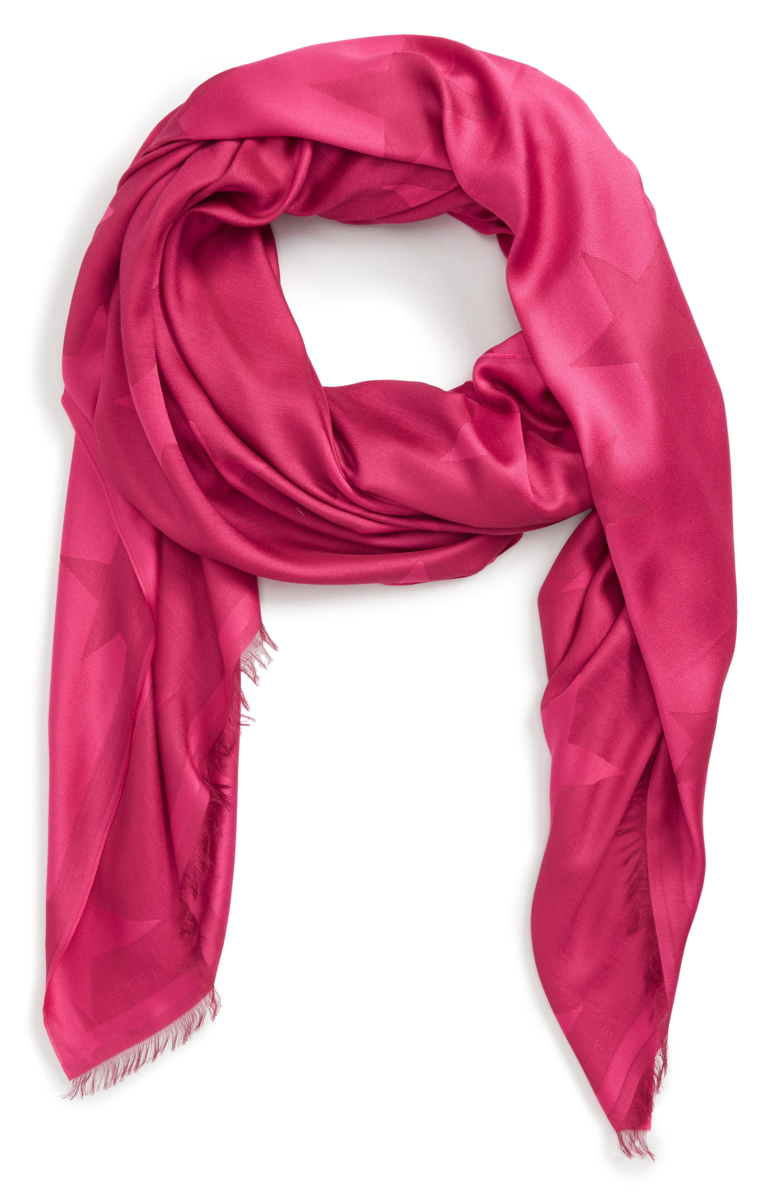 Stella McCartney Star Jacquard Scarf