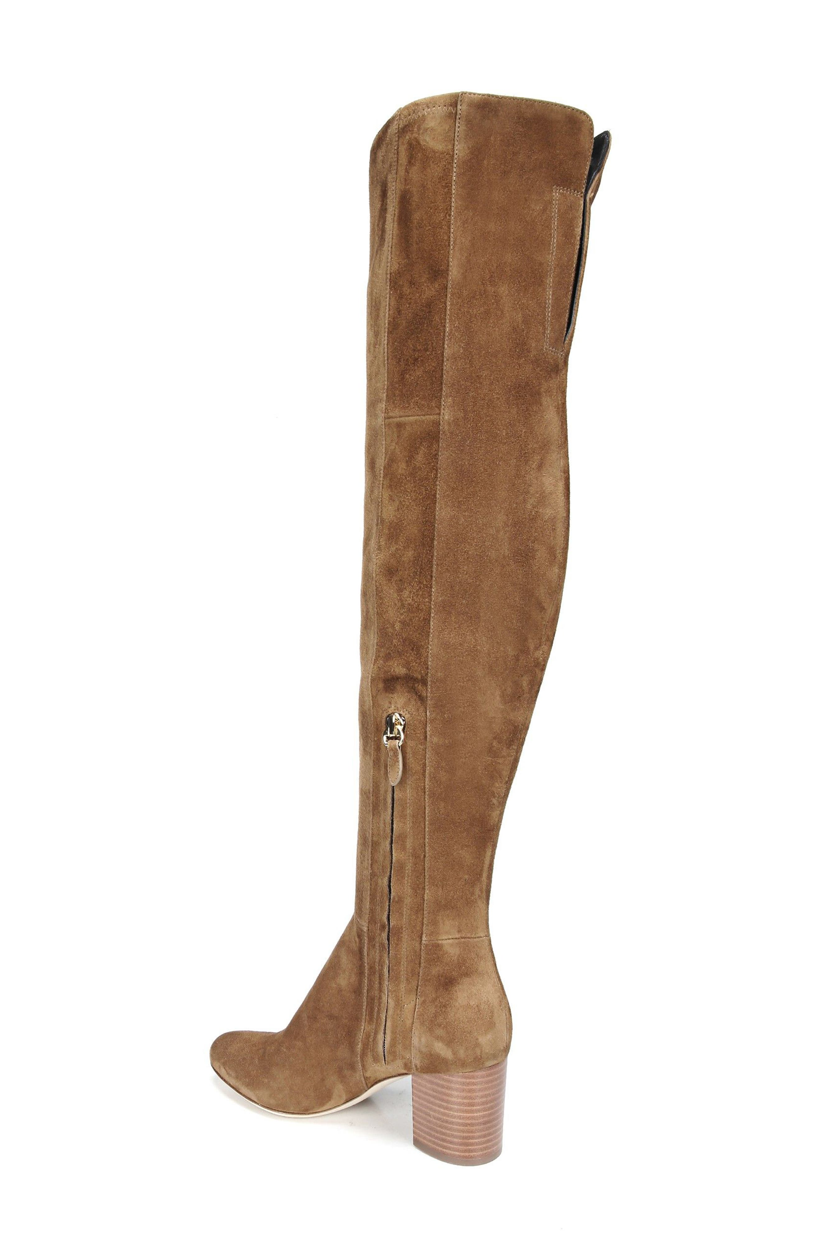 Luzzi Over the Knee Boot,                             Alternate thumbnail 2, color,                             Clove