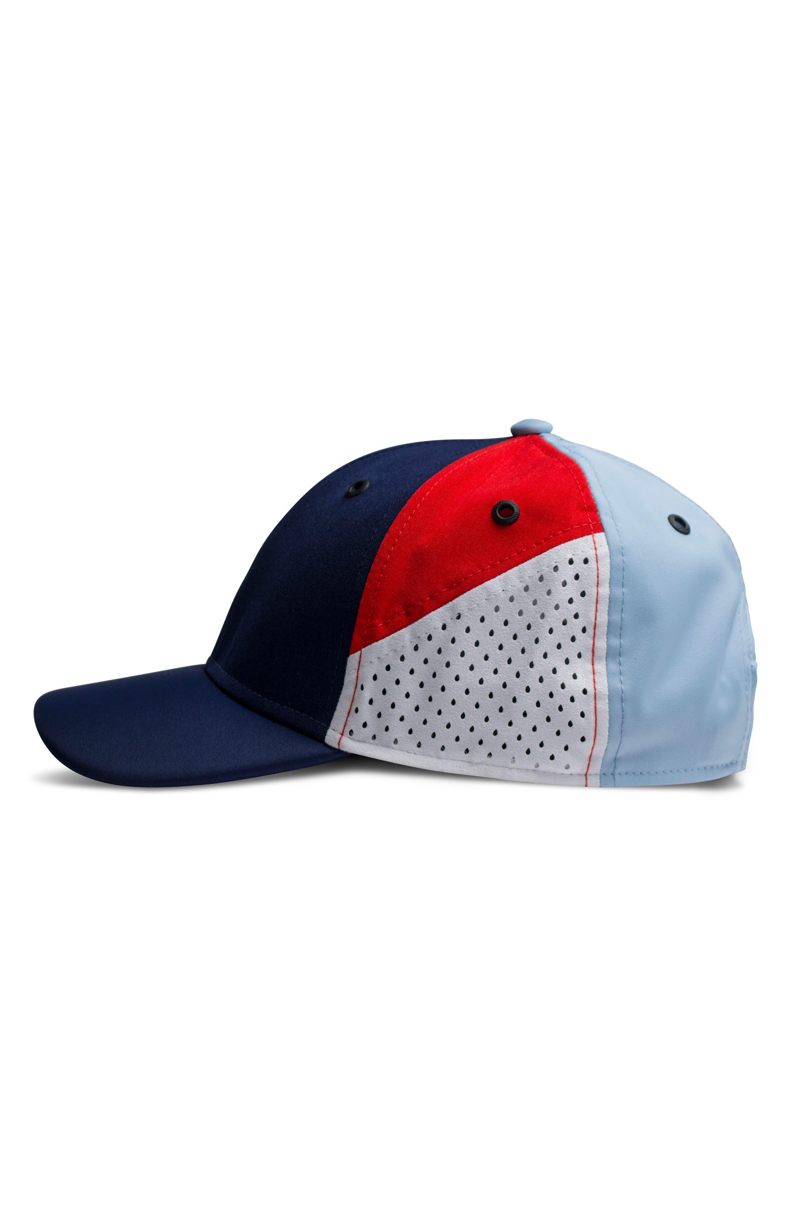 The Assault Snapback Baseball Cap,                             Alternate thumbnail 5, color,                             Red/ White