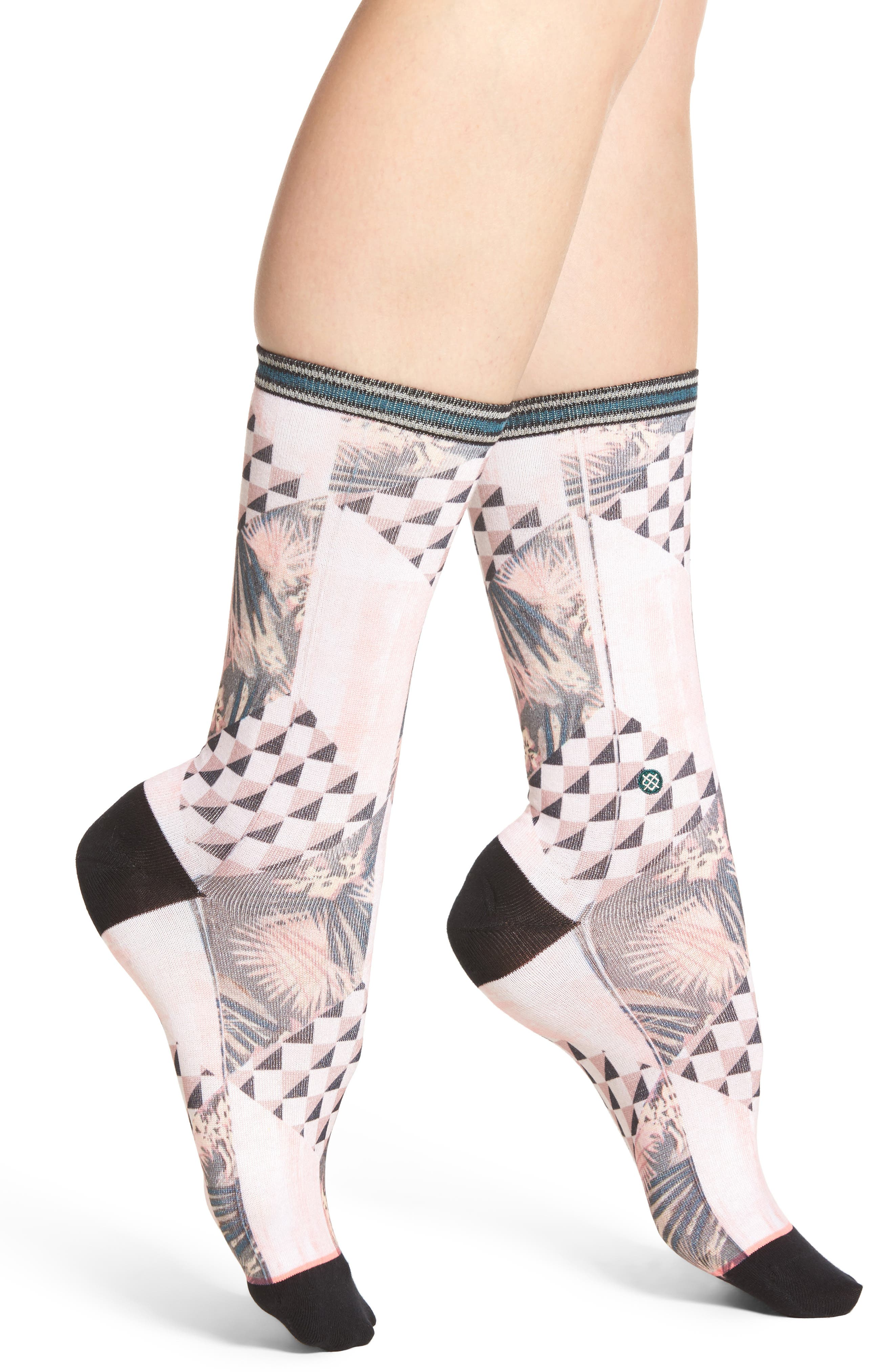 Altitude Socks,                         Main,                         color, Beige Multi