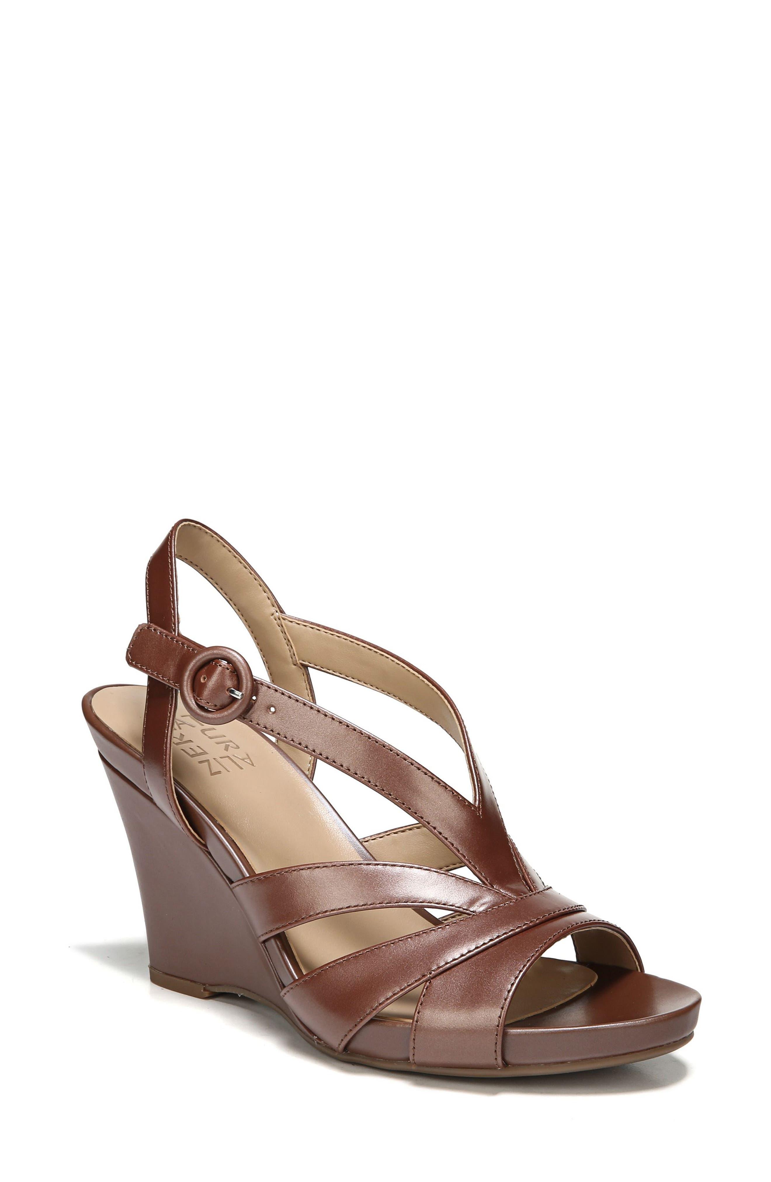 Main Image - Naturalizer Brandy Wedge Sandal (Women)