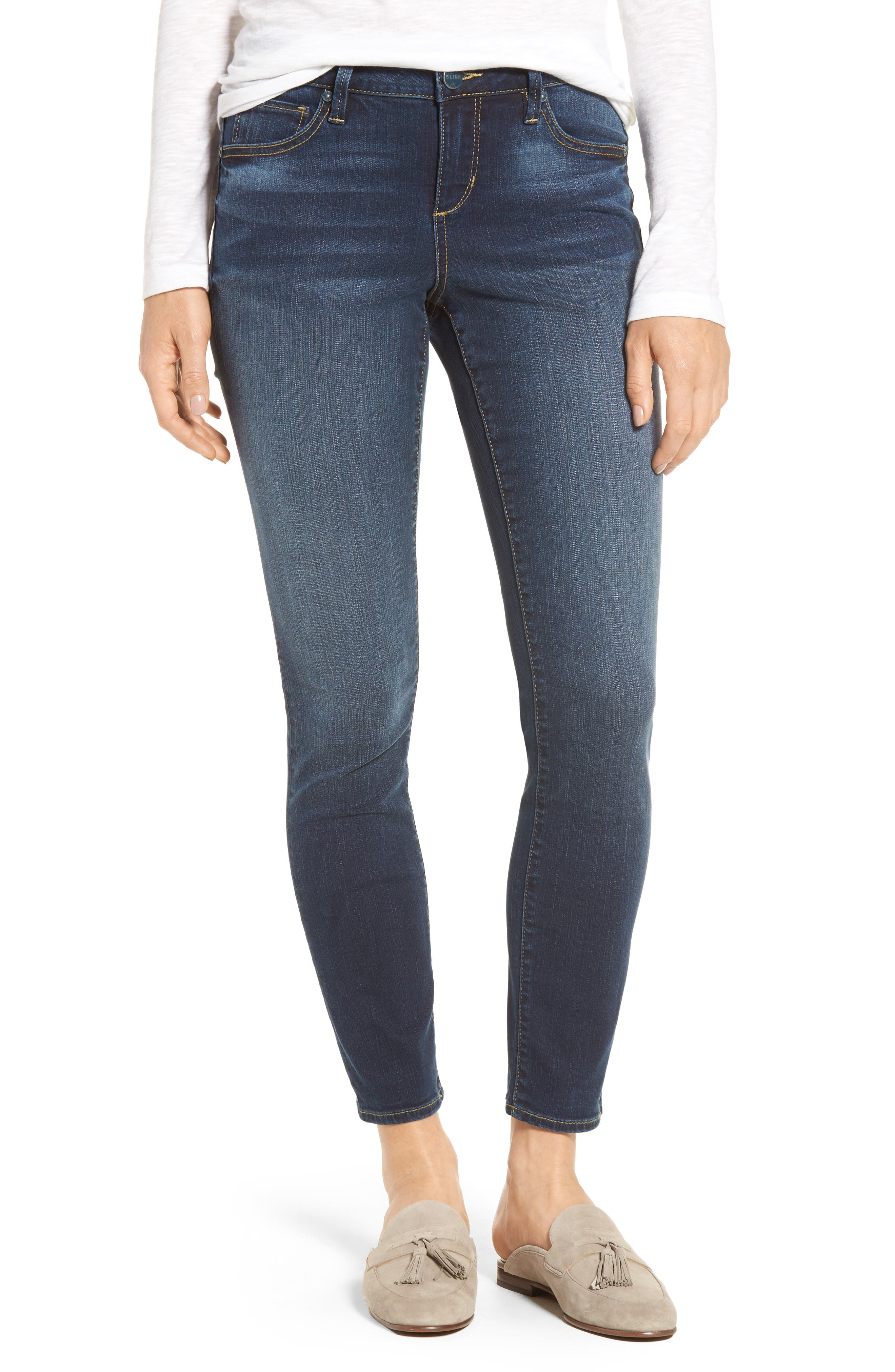 Slim Jeans,                         Main,                         color, Danielle