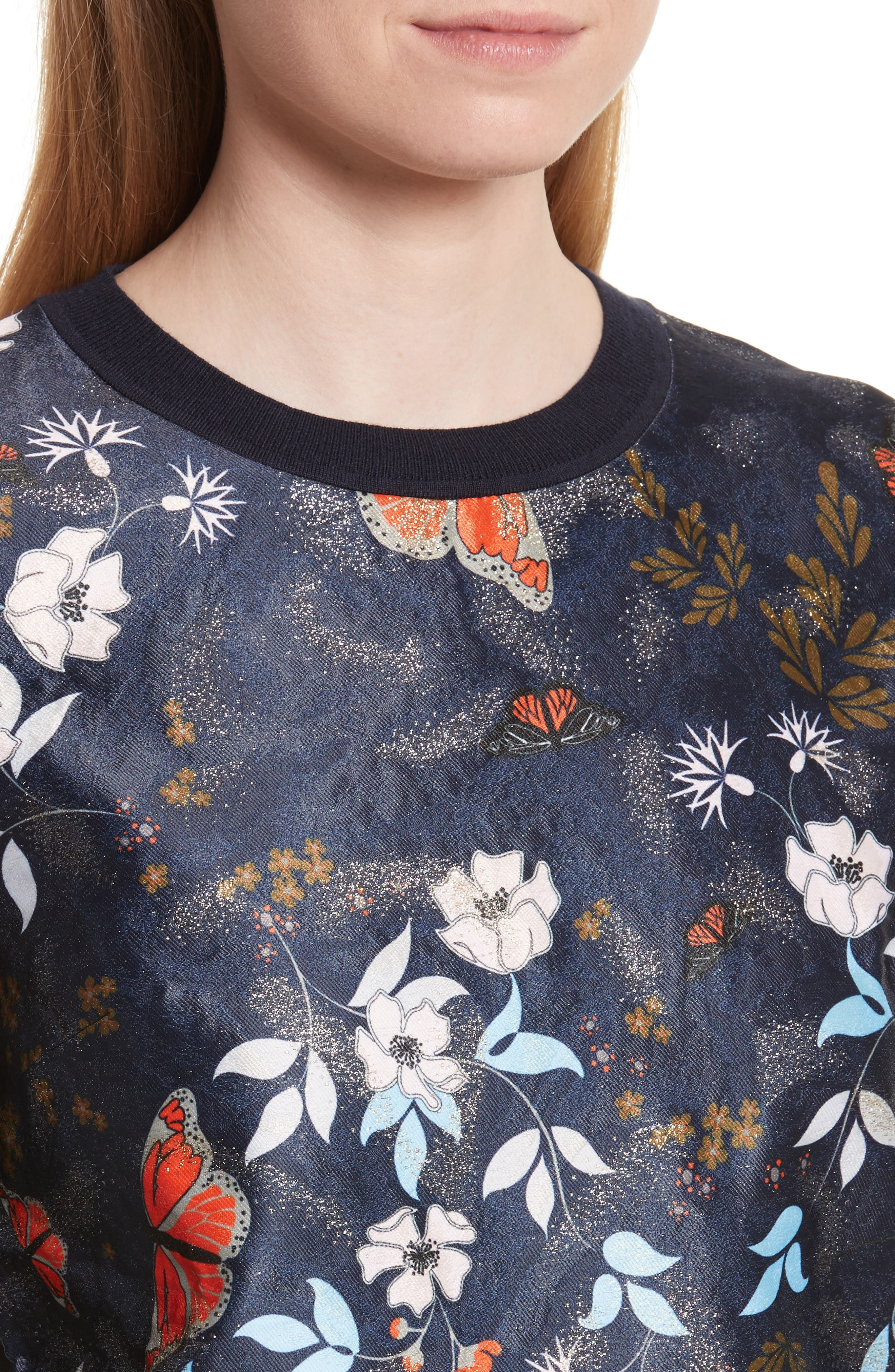 Alternate Image 4  - Ted Baker London Khlo Kyoto Gardens Jacquard Sweater