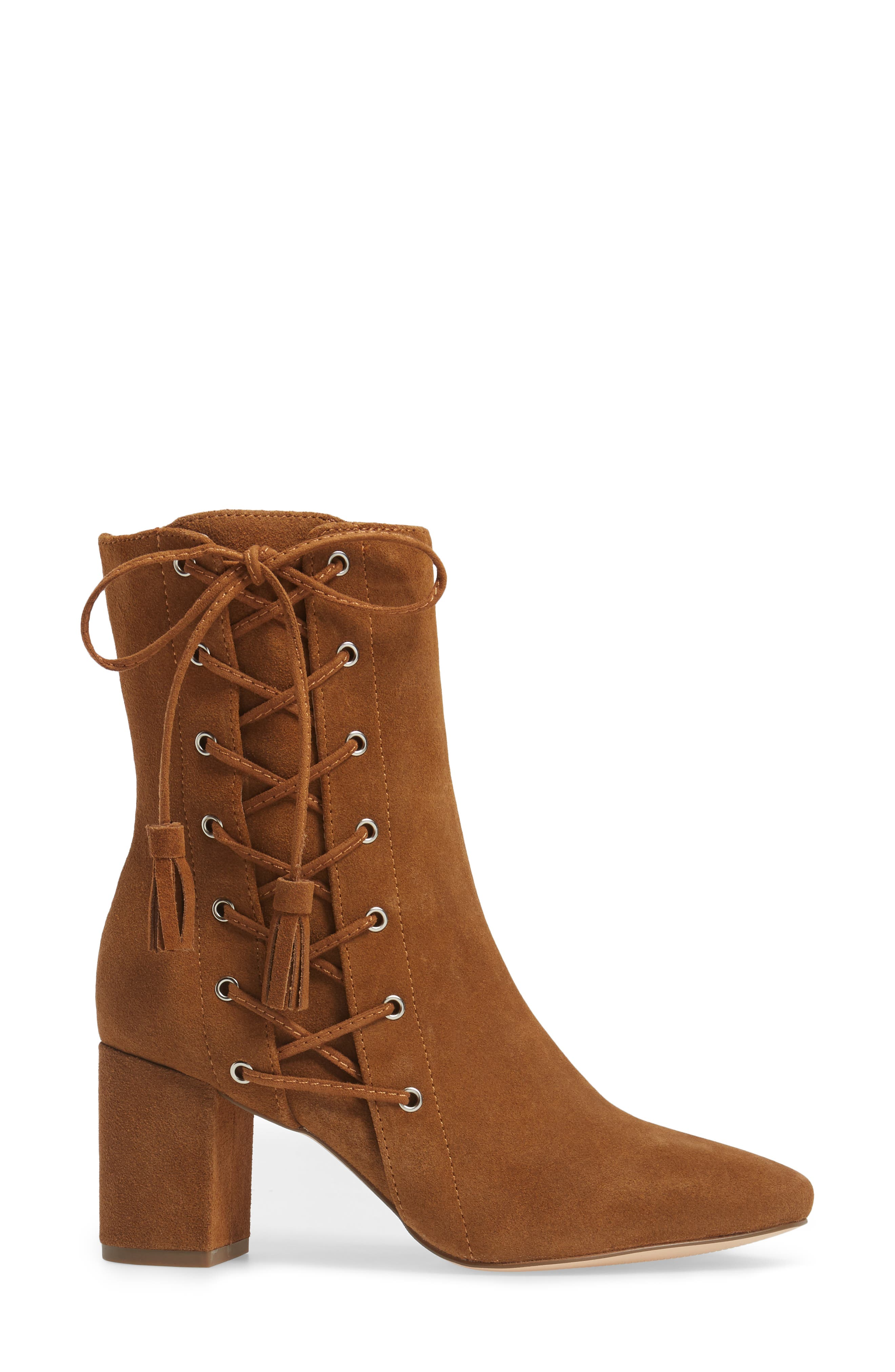Alternate Image 3  - Matisse Harp Lace-Up Bootie (Women)