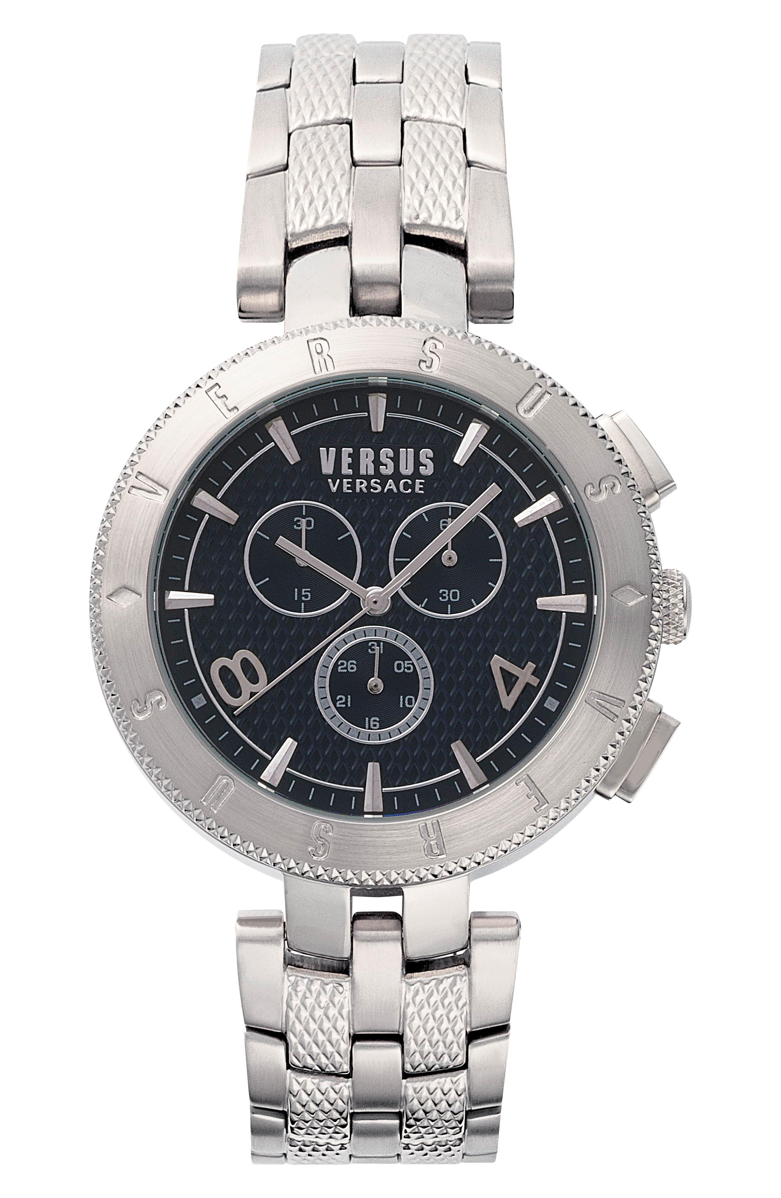 Versus by Versace Logo Chronograph Bracelet Watch, 44mm