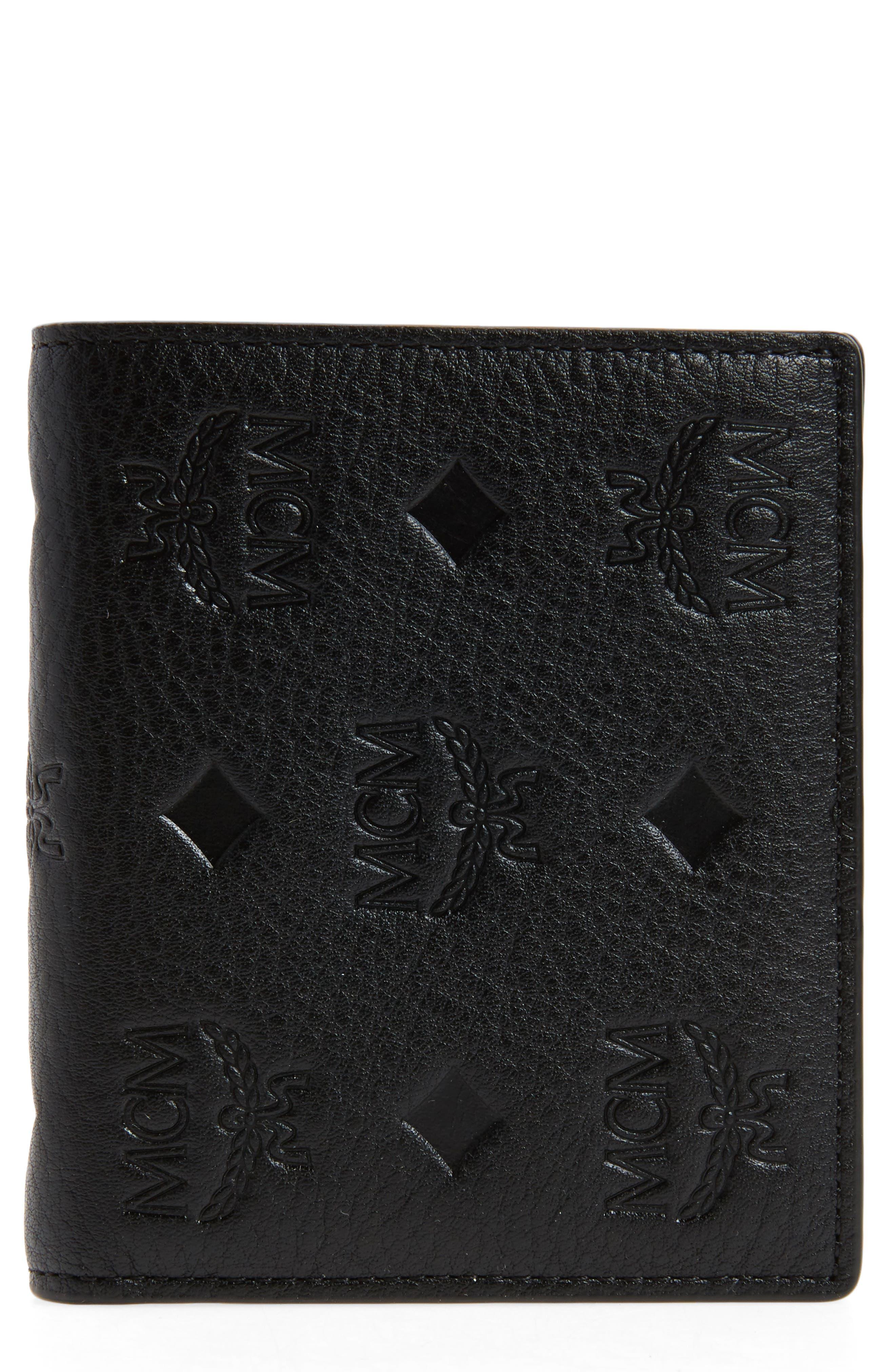 Main Image - MCM Klara Leather Bifold Wallet