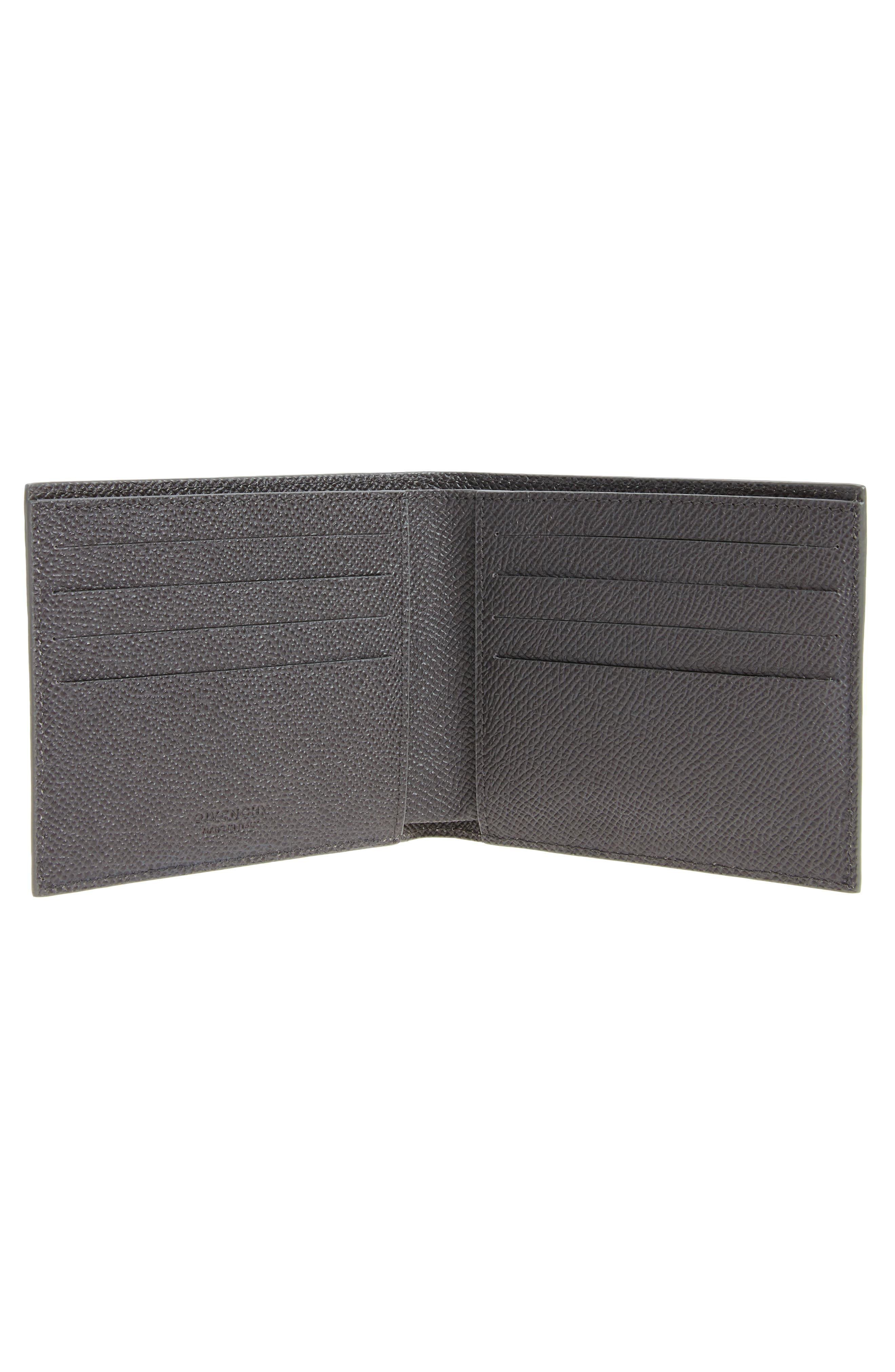 Alternate Image 2  - Givenchy Calfskin Leather Bifold Wallet