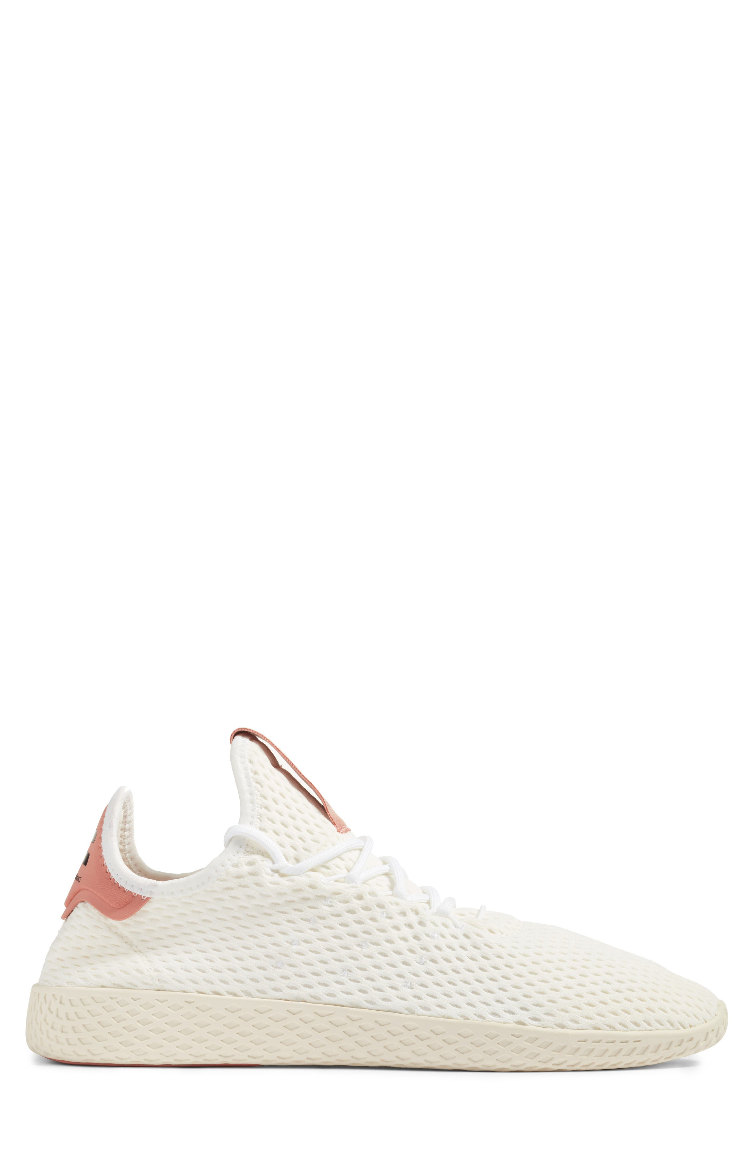 Pharrell Williams Tennis Hu Sneaker,                             Alternate thumbnail 3, color,                             White/ Pink