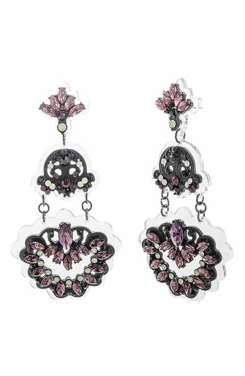 Women\'s Black Chandelier Earrings | Nordstrom