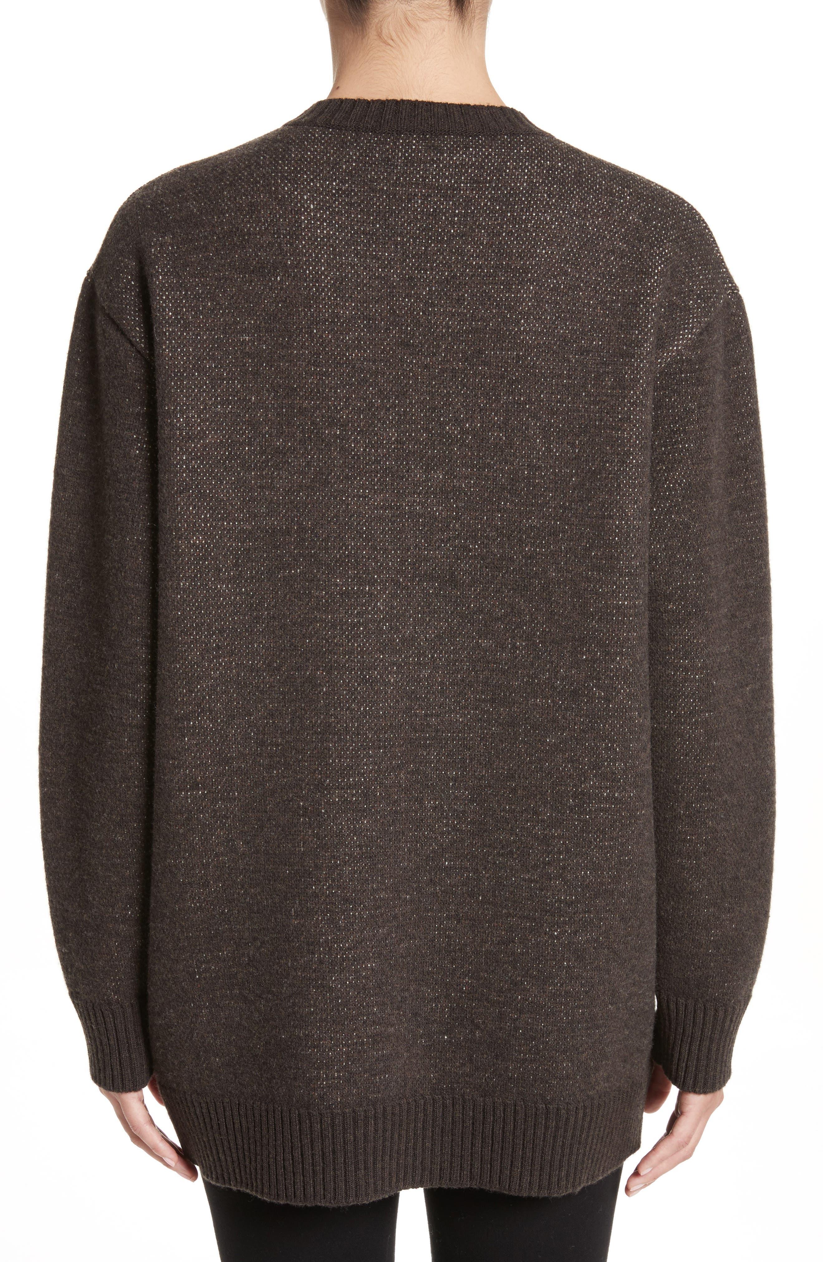 Alternate Image 2  - Stella McCartney Horse Intarsia Sweater