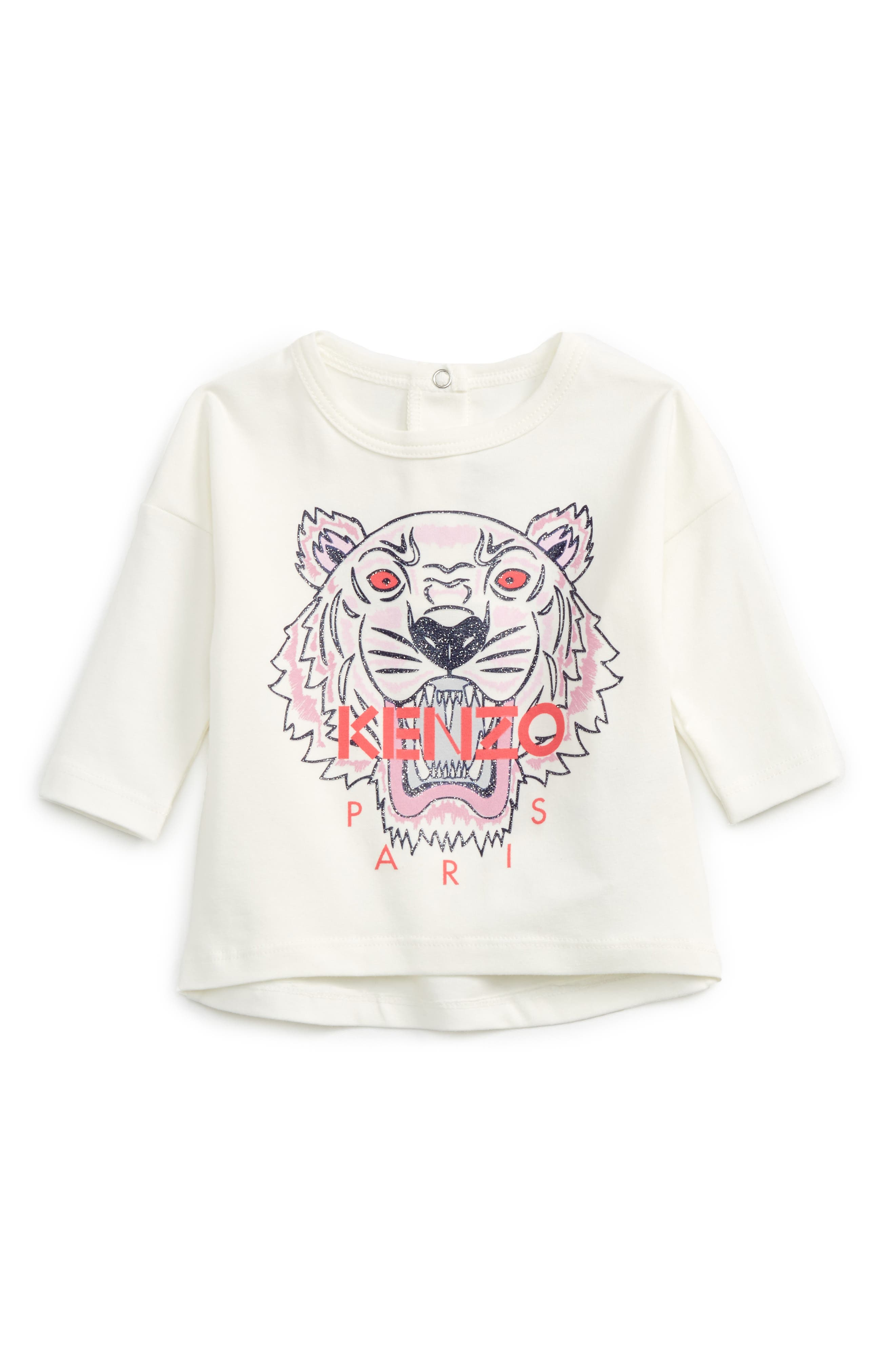 KENZO Tiger Tee (Baby Girls)