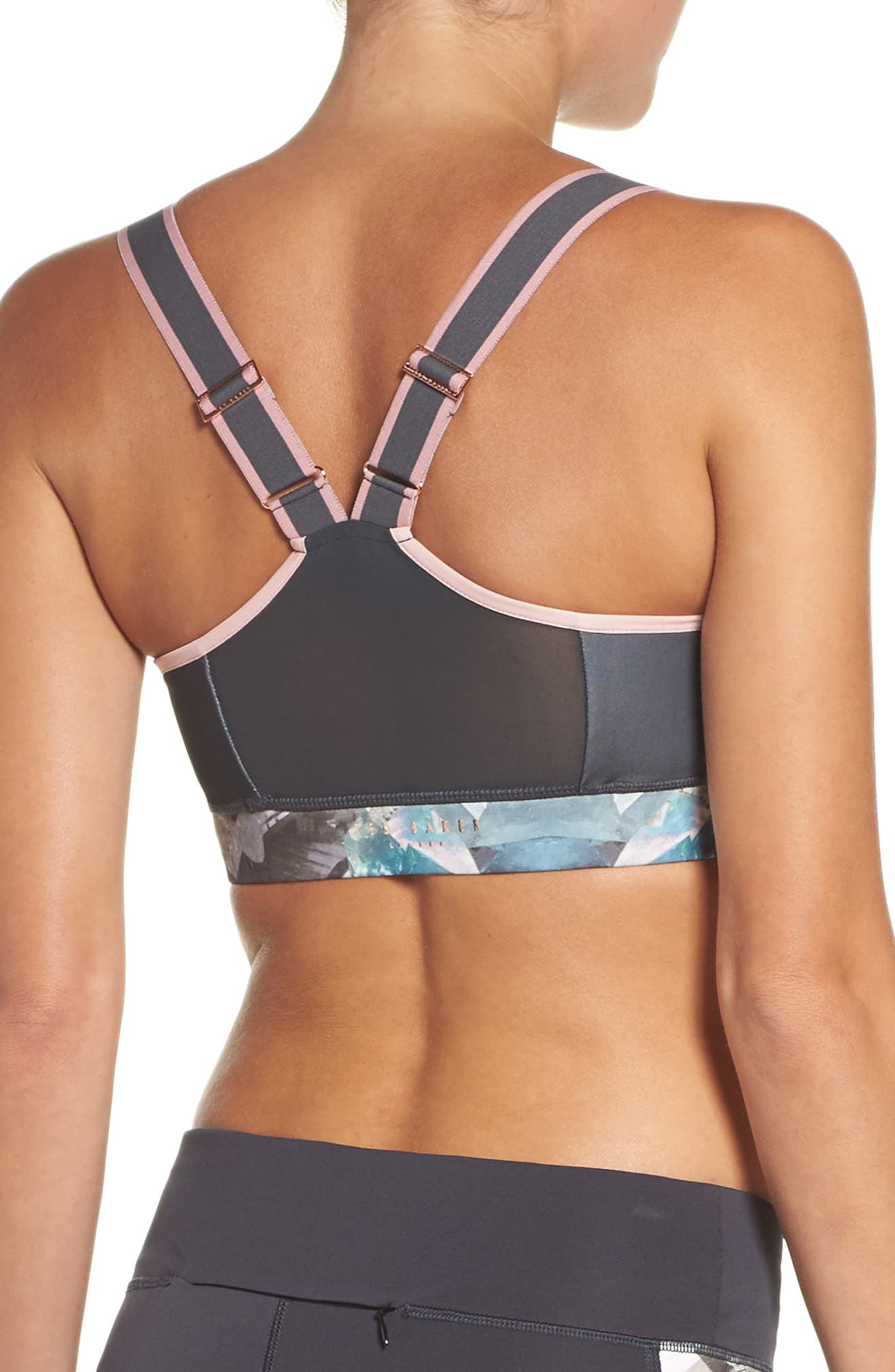 Mineral Sports Bra,                             Alternate thumbnail 2, color,                             Mid Grey
