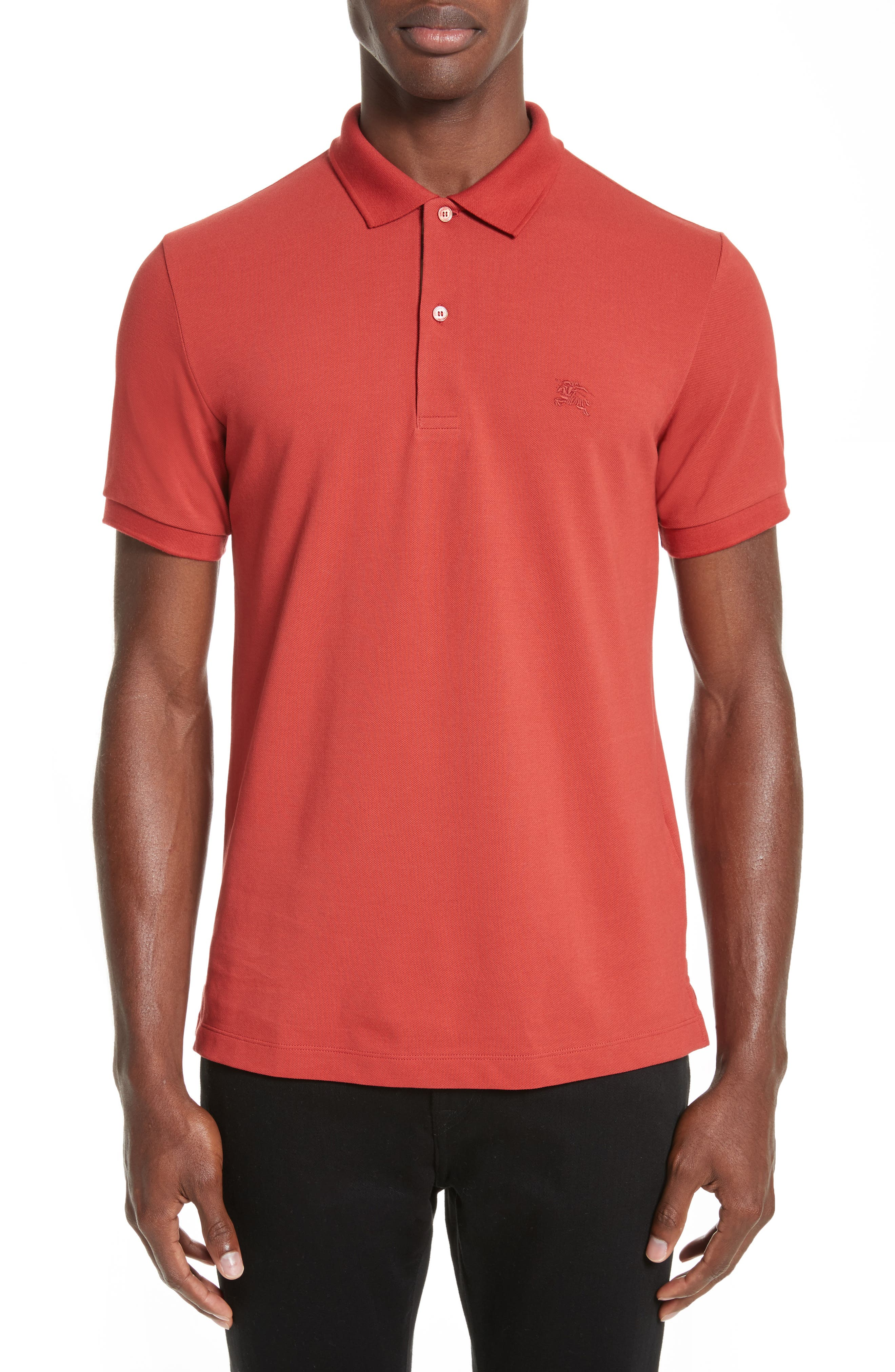 Burberry Oxford Classic Fit Solid Polo
