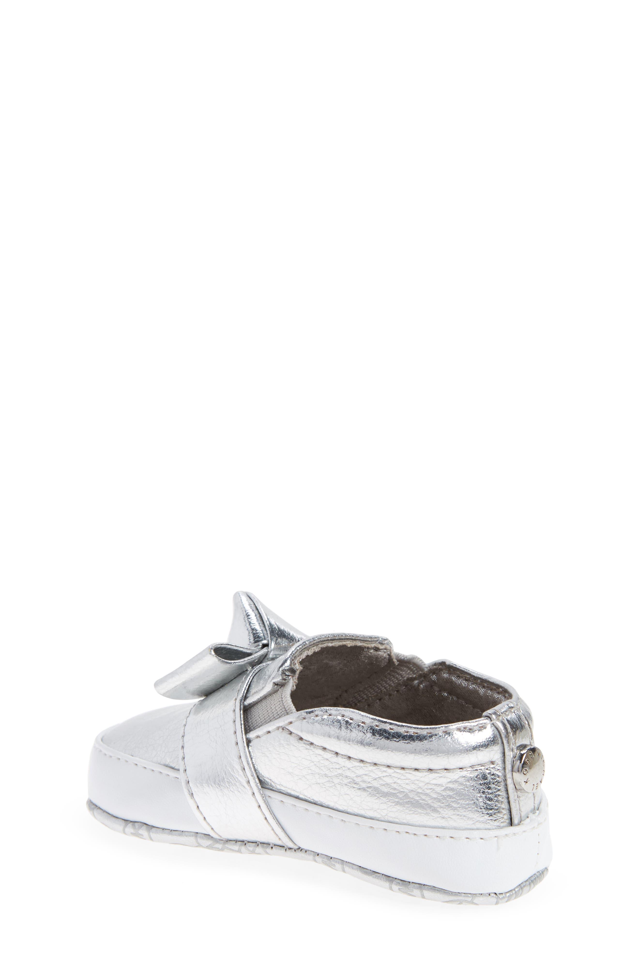 Alternate Image 2  - MICHAEL Michael Kors Baby Poppy Slip-On Crib Shoe (Baby)