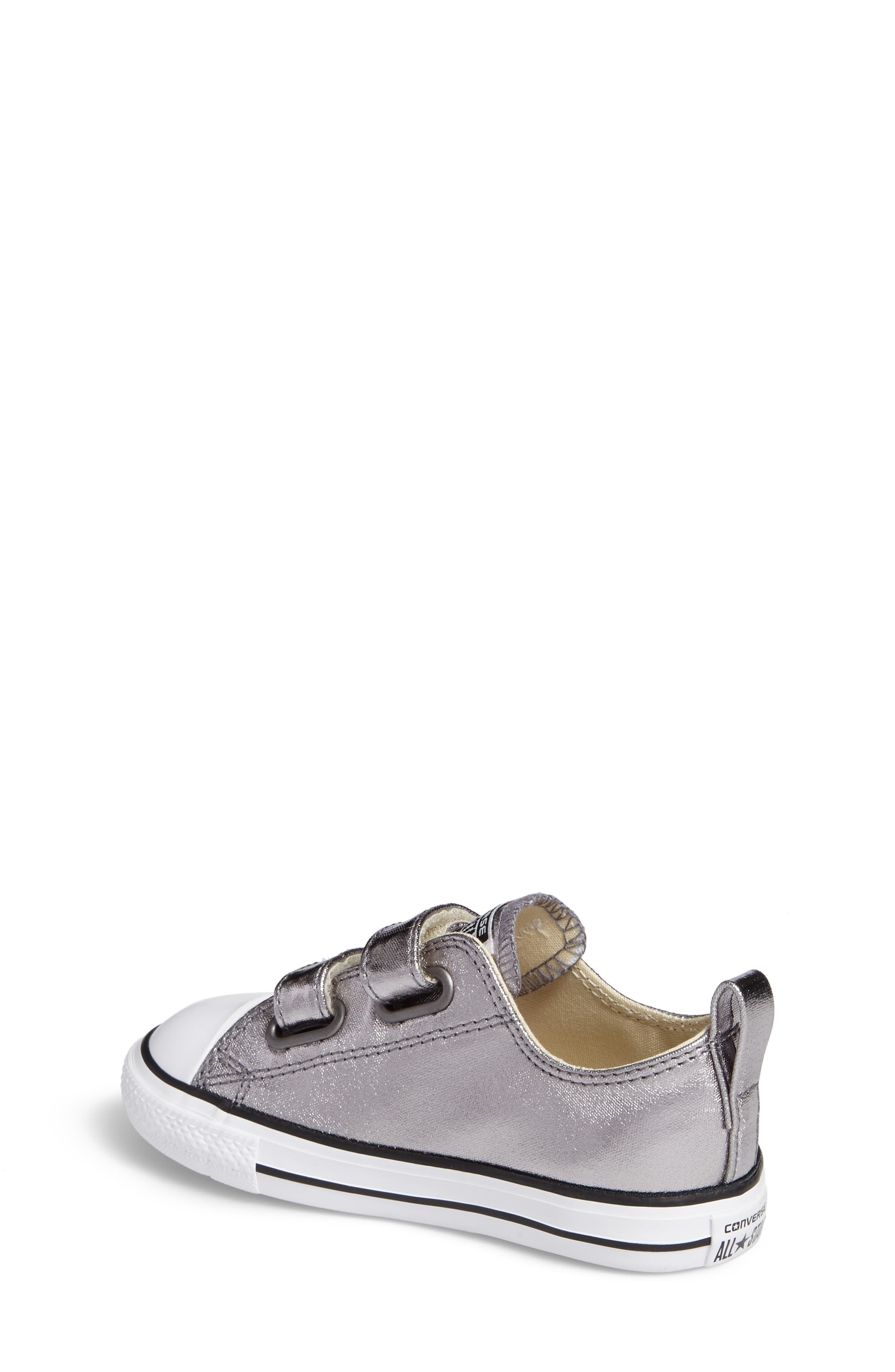 Alternate Image 2  - Converse Chuck Taylor® All Star® Seasonal Metallic Low Top Sneaker (Baby, Walker & Toddler)