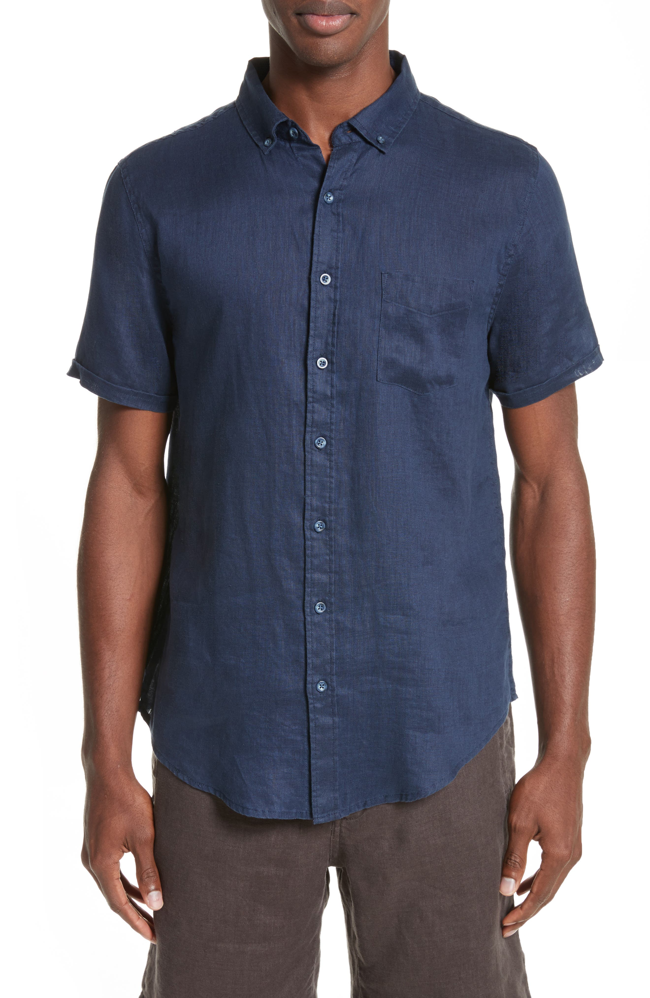 Alternate Image 1 Selected - ONIA Jack Linen Sport Shirt