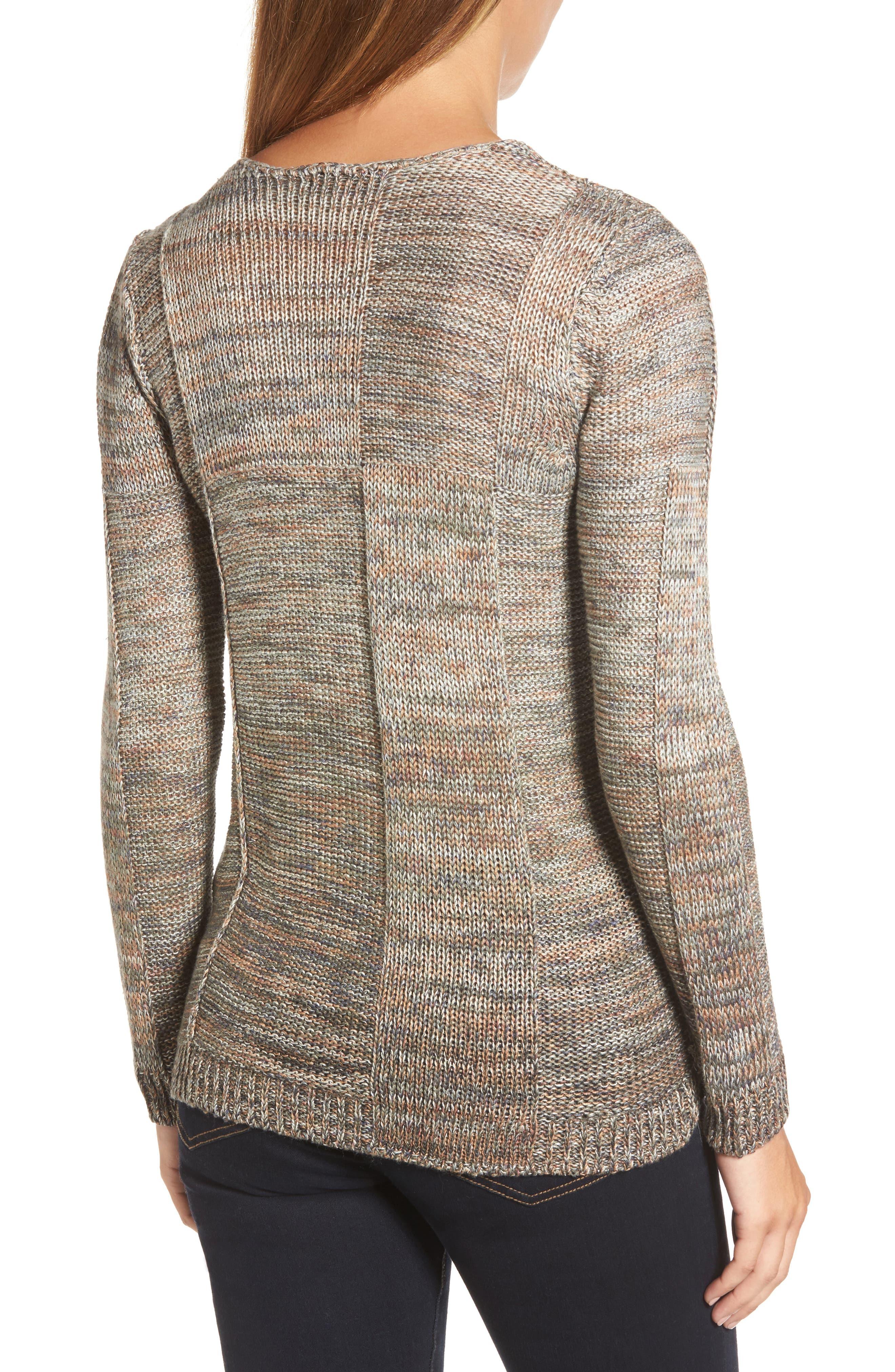 Textured Ombré Sweater,                             Alternate thumbnail 2, color,                             Multi