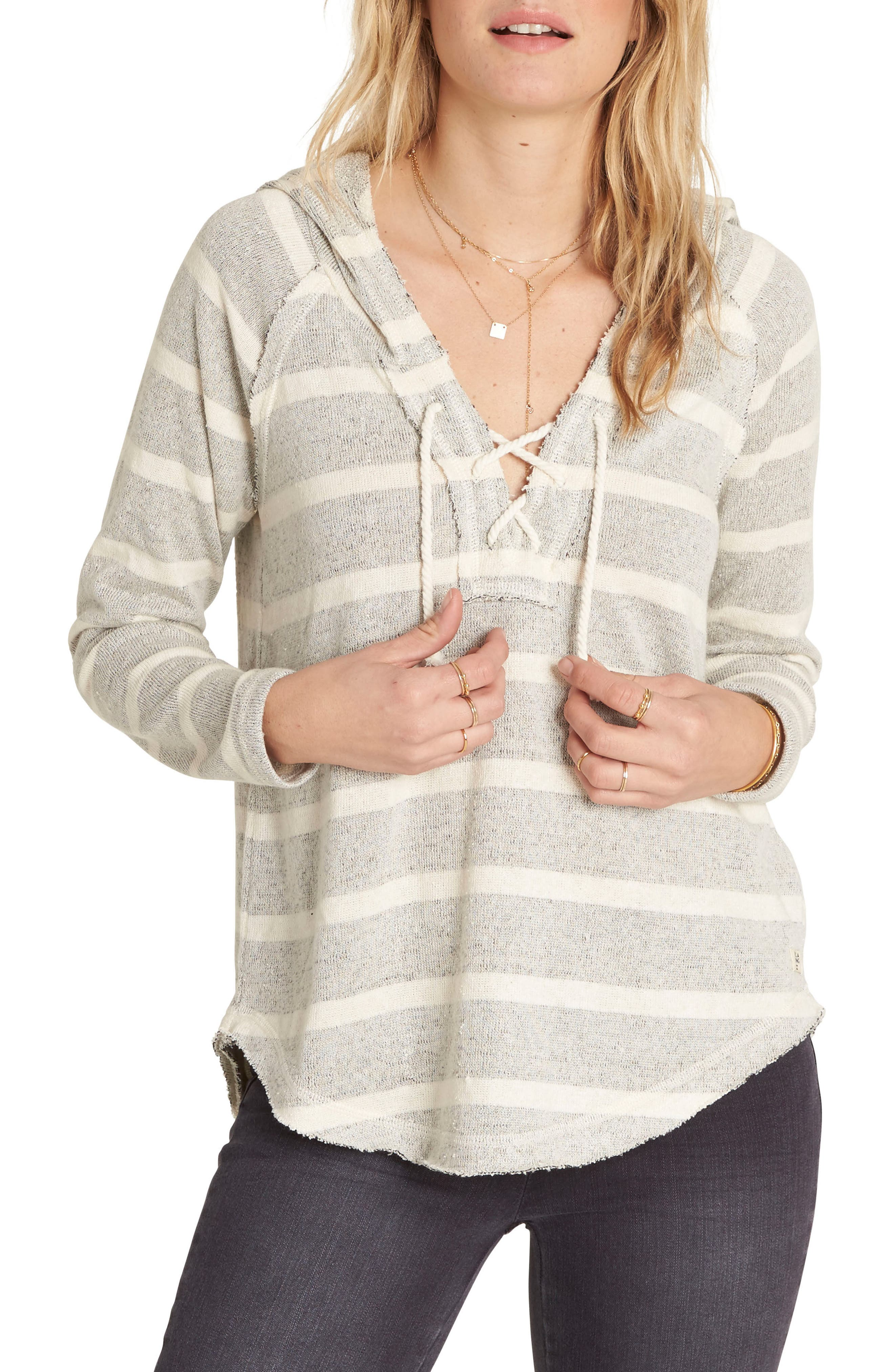 Billabong Along Side Stripe Hoodie