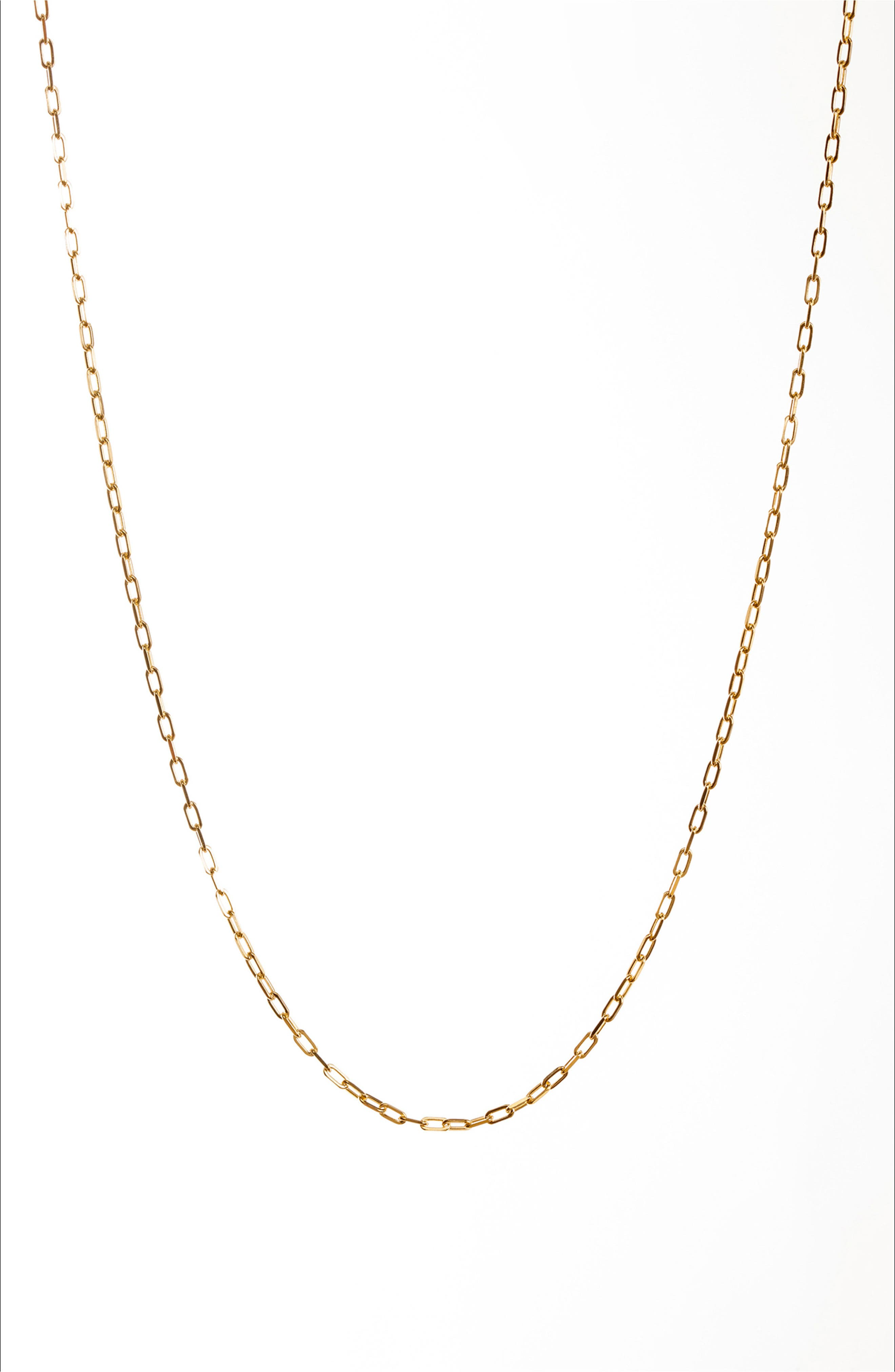 Petalbox Link Necklace,                             Alternate thumbnail 6, color,                             Gold