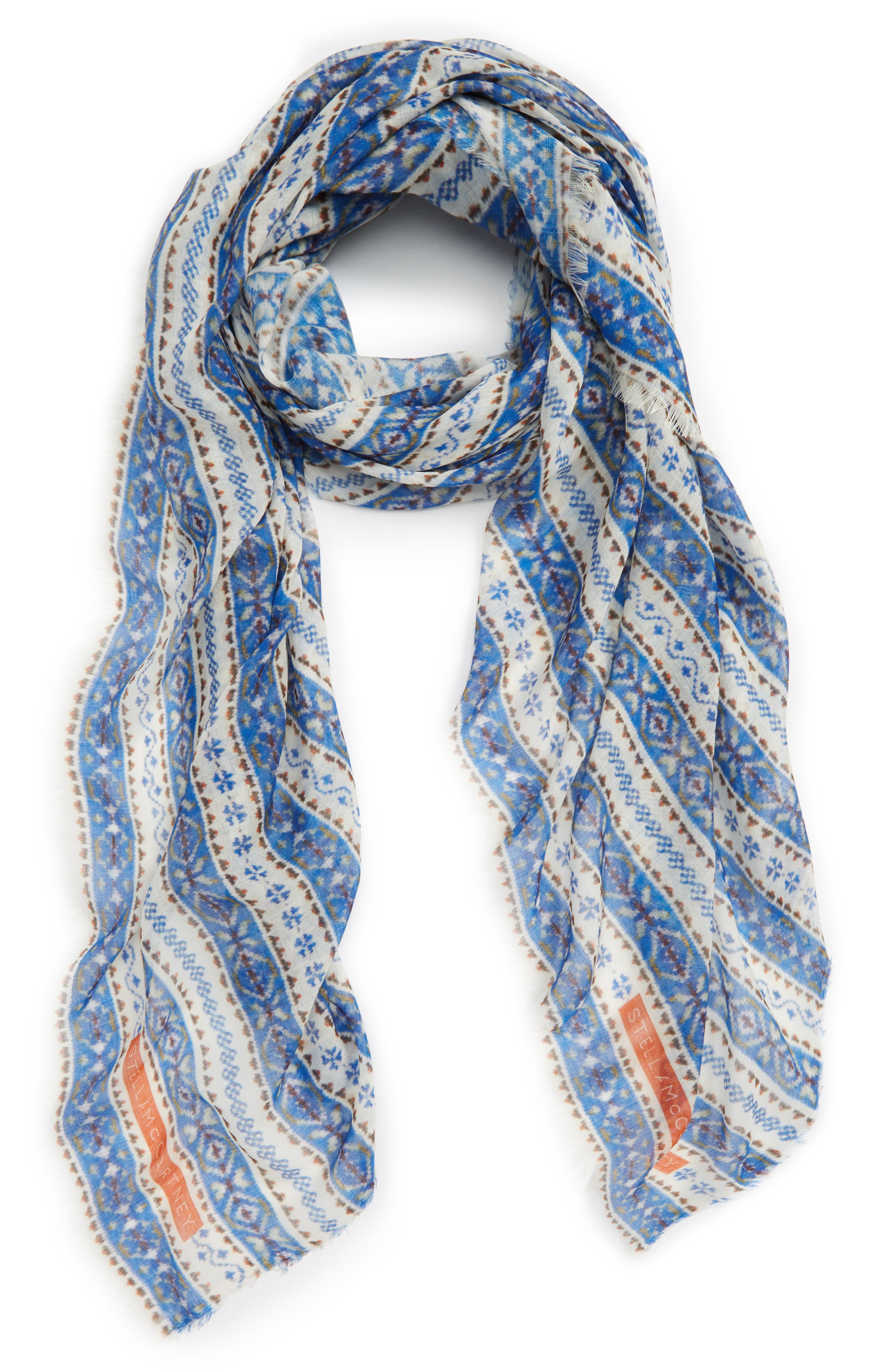 Stella McCartney Fair Isle Scarf