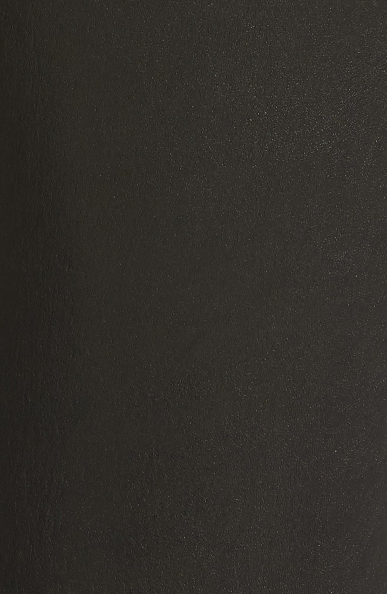 Alternate Image 5  - AG Farrah Leather Skinny Jeans