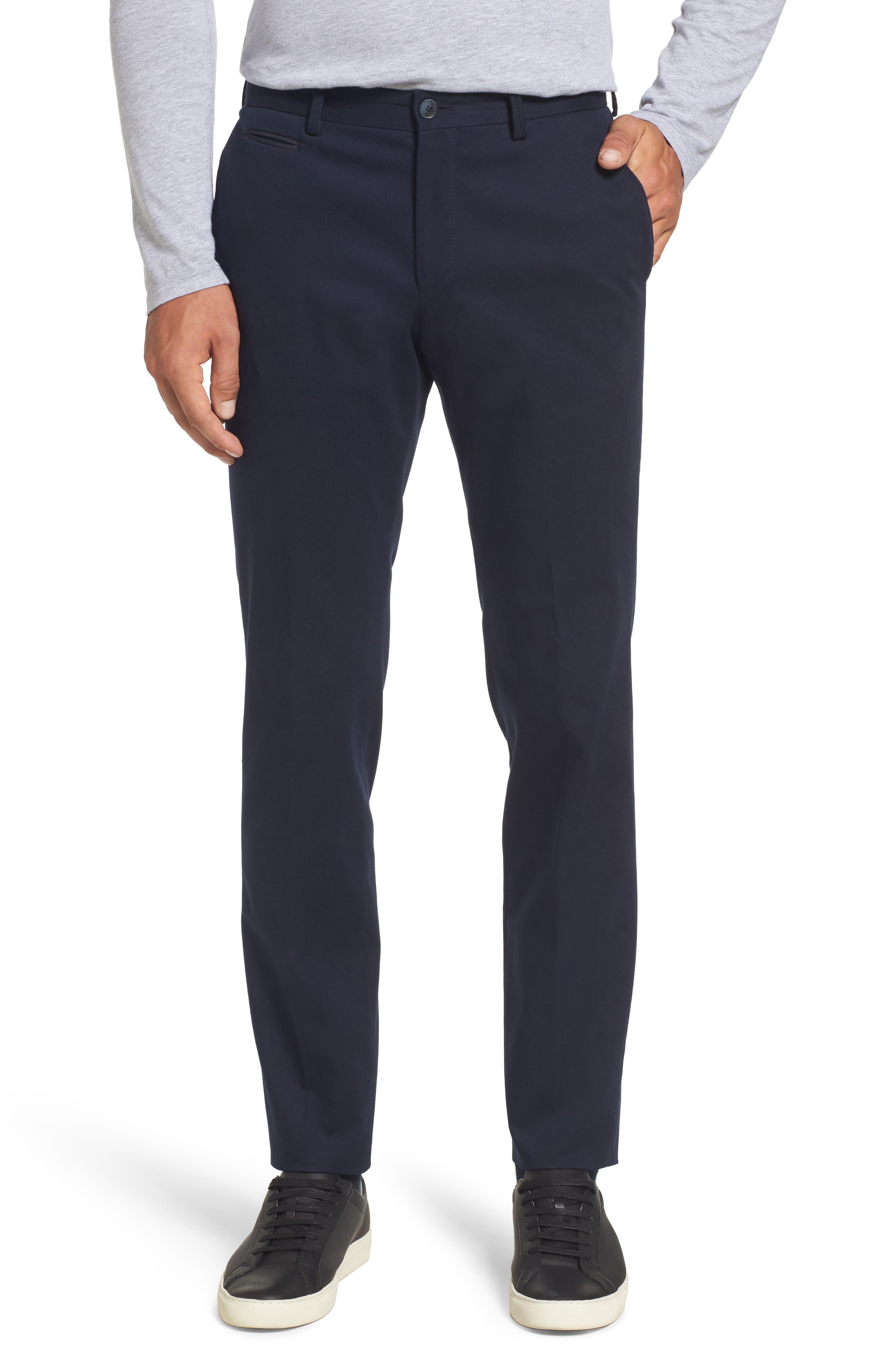Batho-W Regular Fit Trousers,                             Main thumbnail 1, color,                             Navy