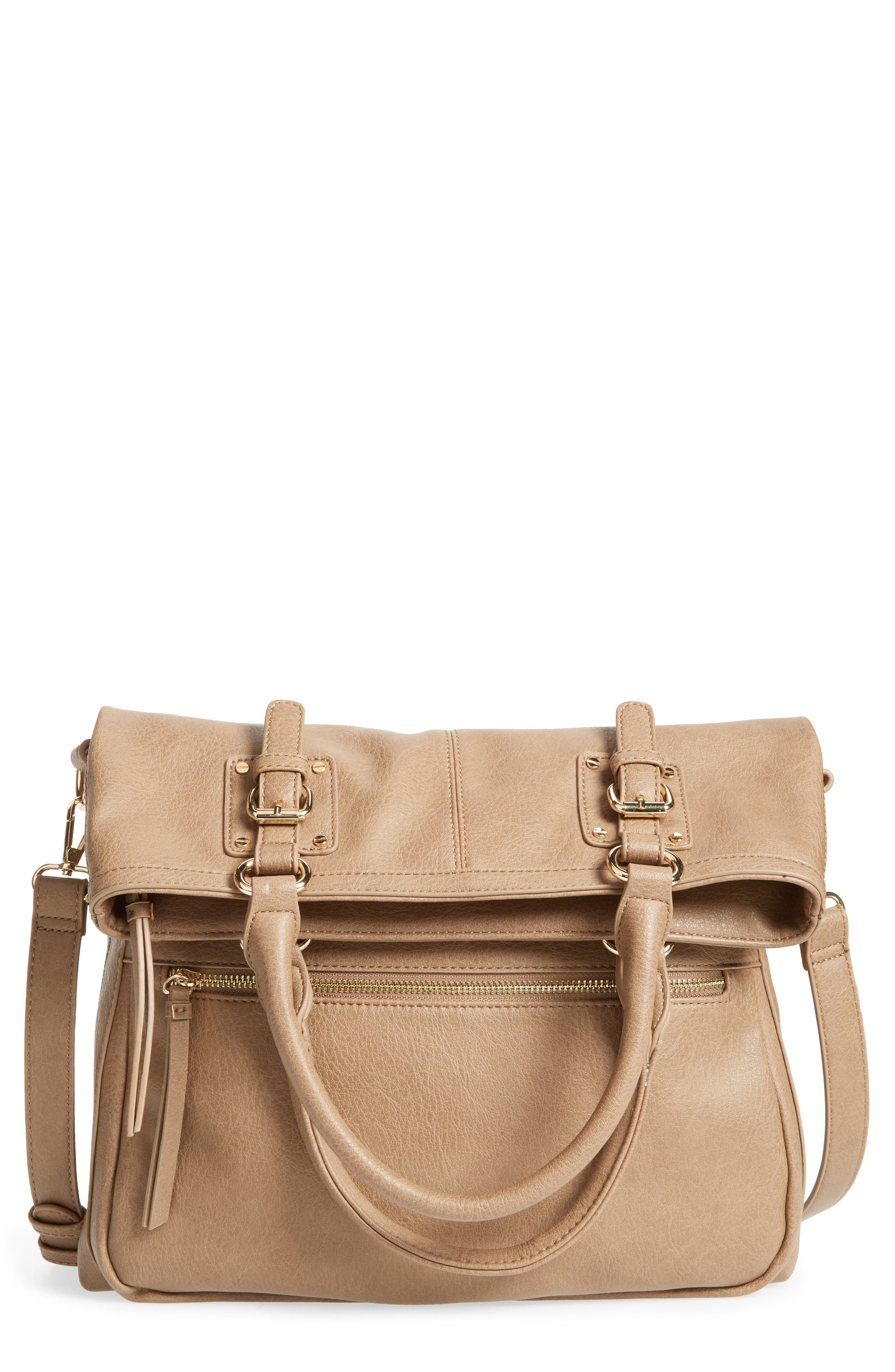 Main Image - Sole Society Charlie Foldover Tote