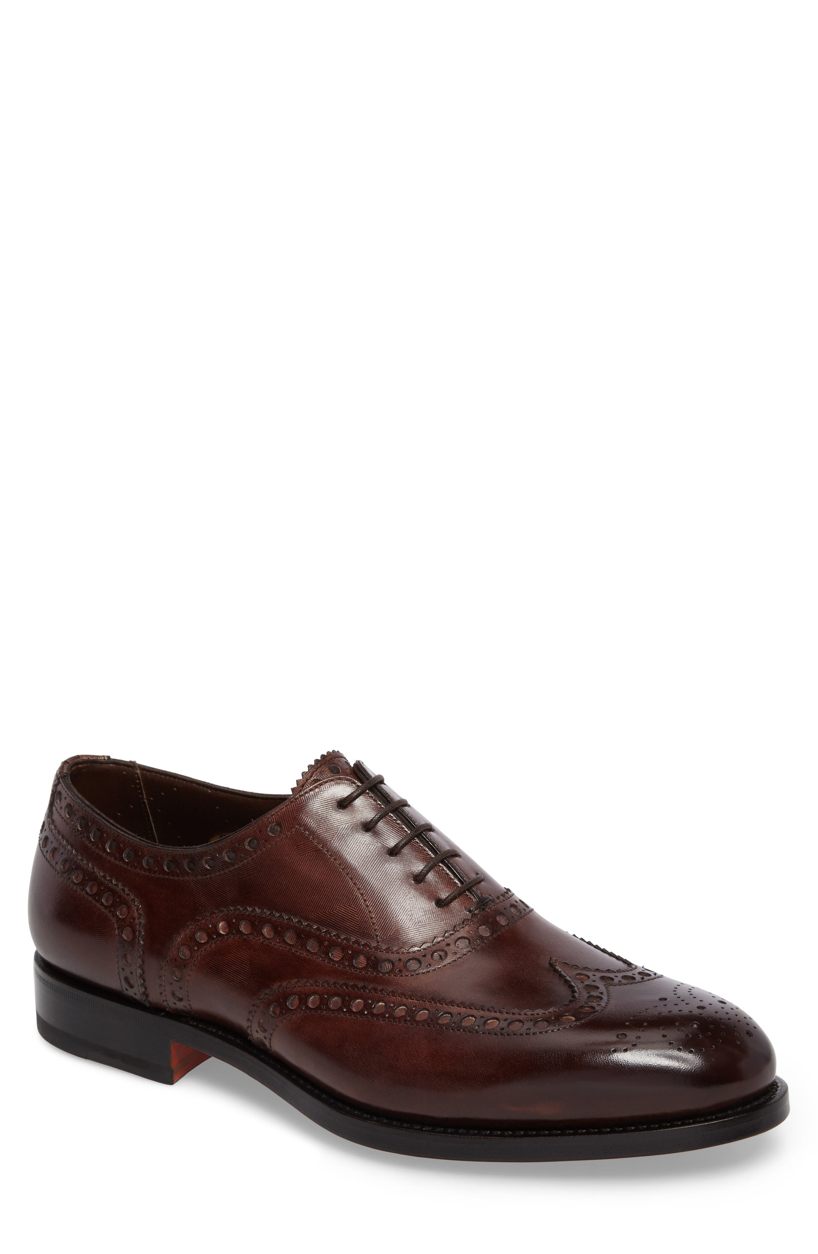 Santoni Garrick Wingtip (Men)