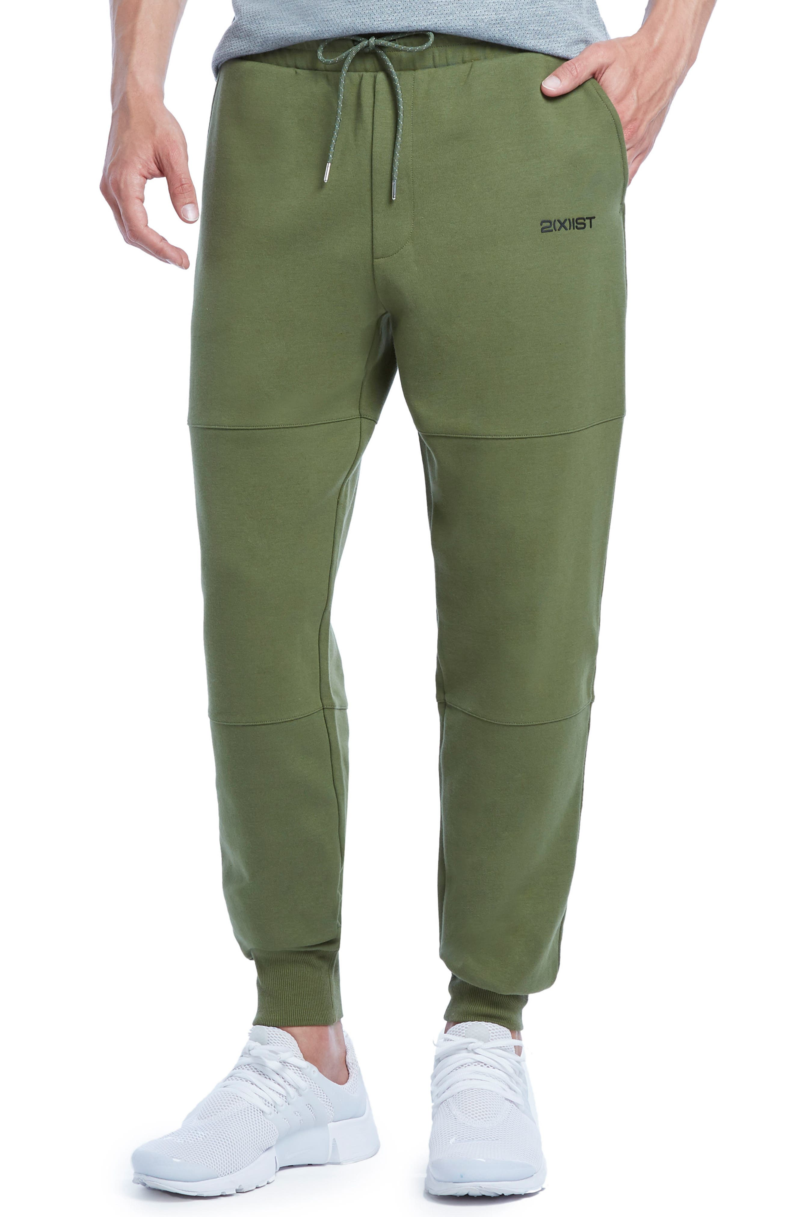 Military Sport Lounge Pants,                         Main,                         color, Olive