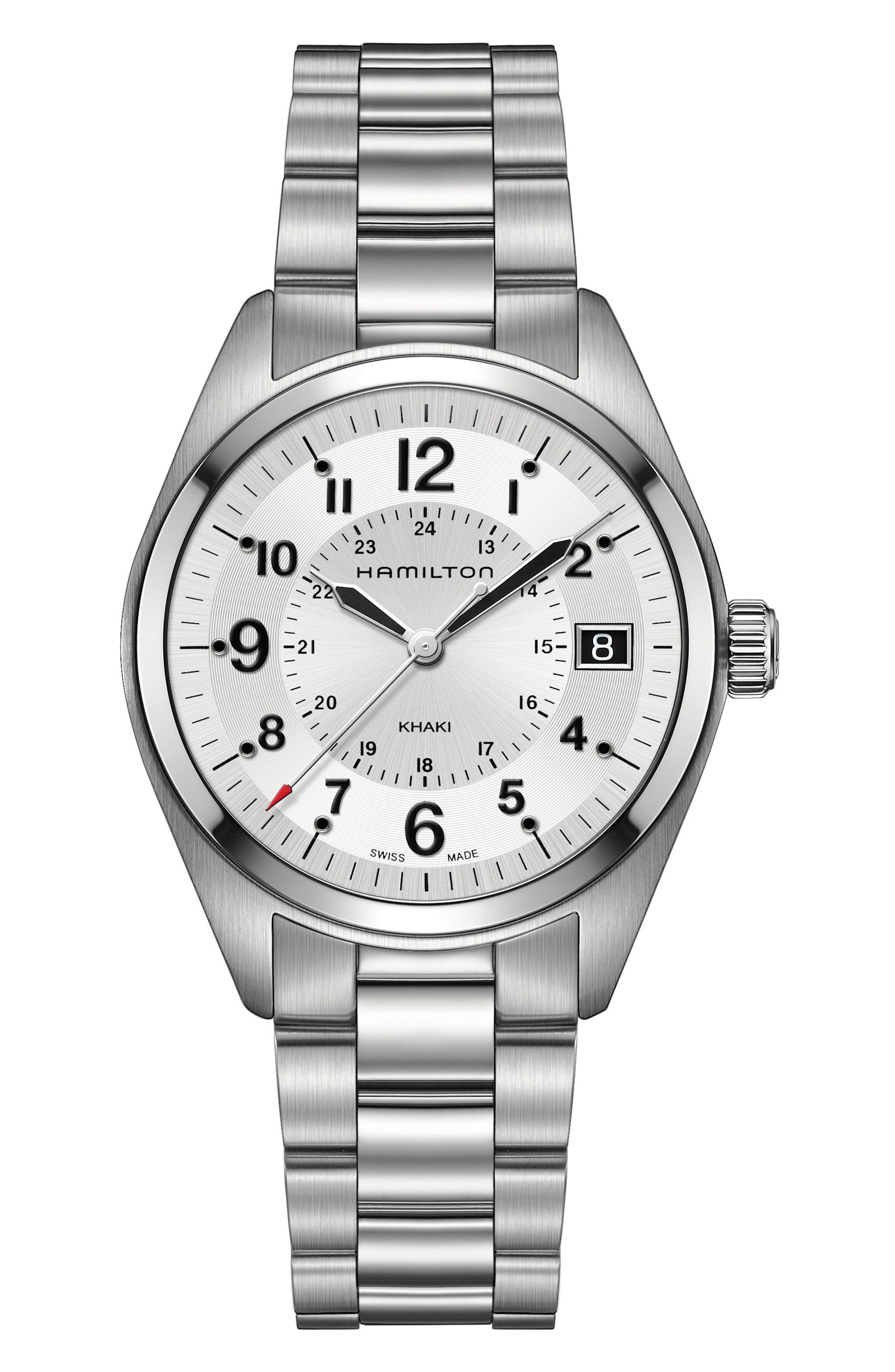 HAMILTON Khaki Field Bracelet Watch, 40mm
