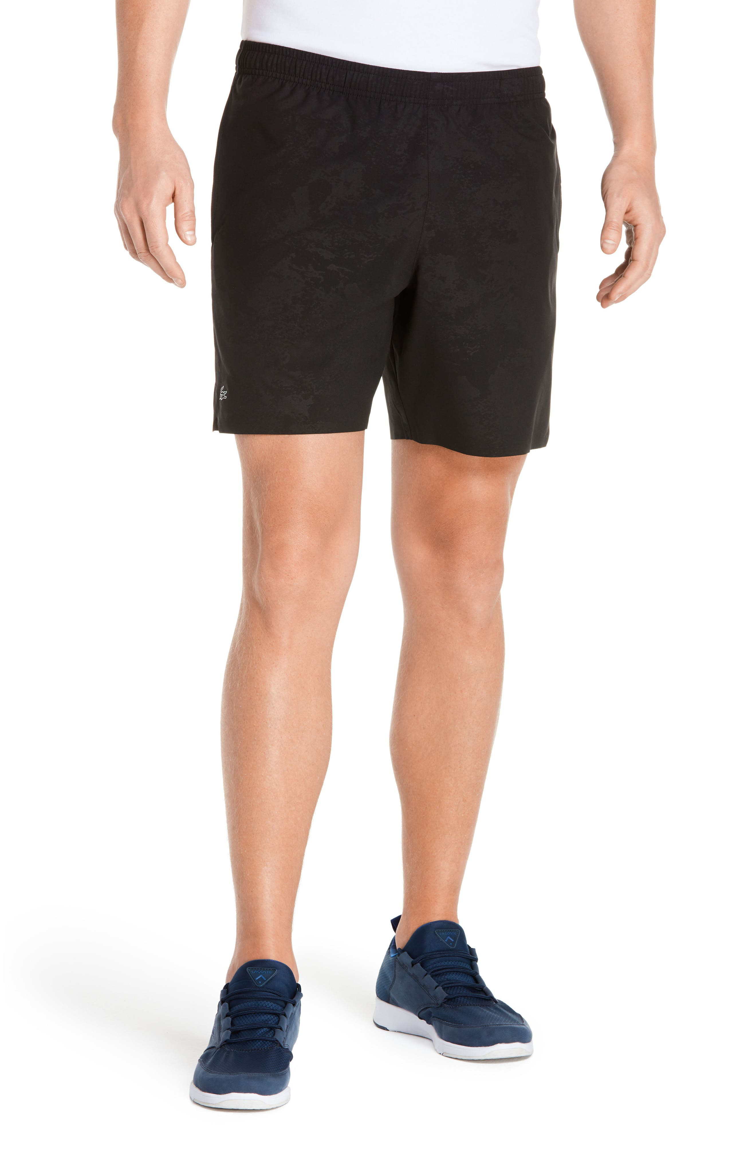 Stretch-Woven Sport Shorts,                             Main thumbnail 1, color,                             031 Black