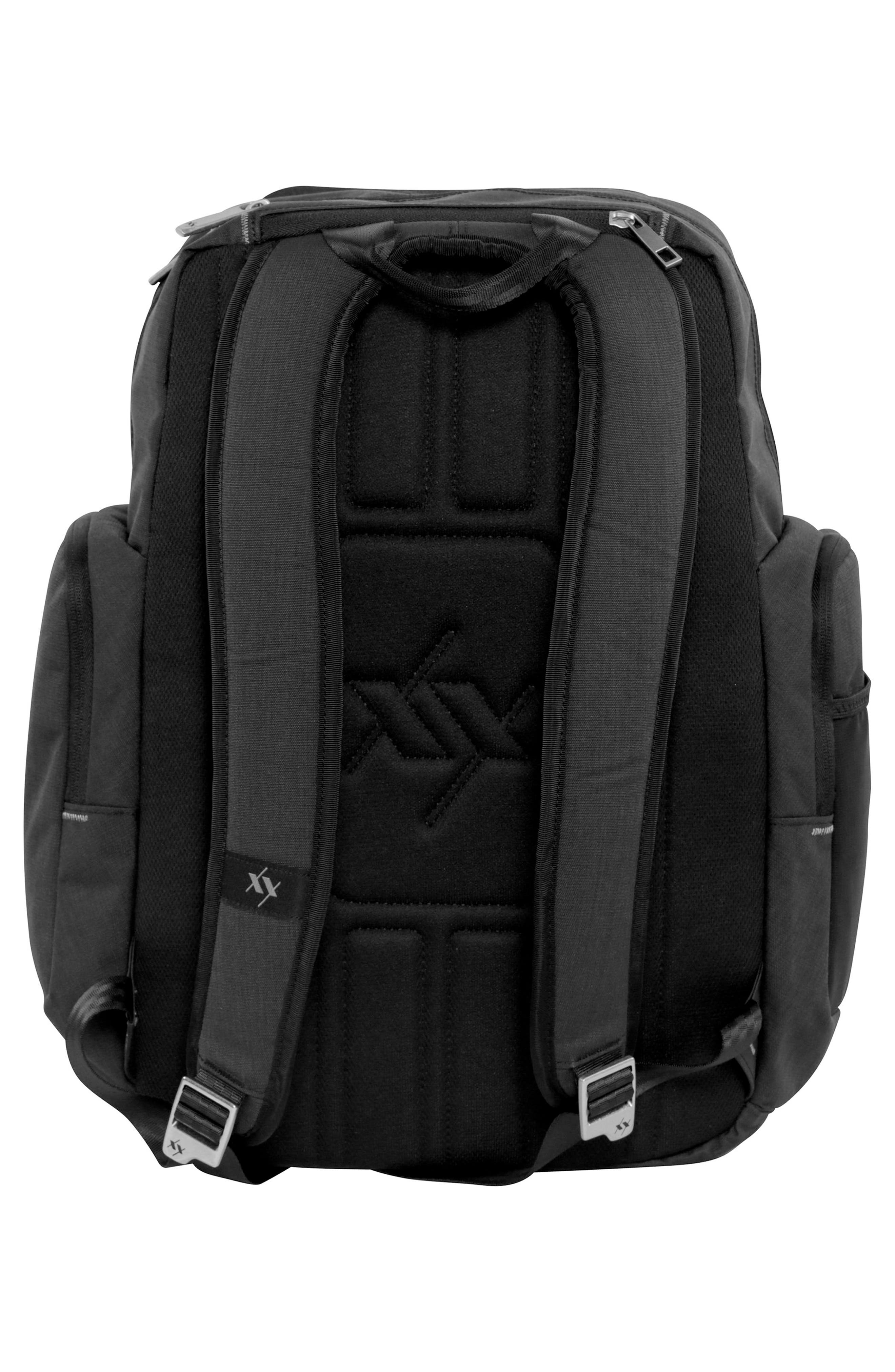 XY Vector Diaper Backpack,                             Alternate thumbnail 2, color,                             Carbon
