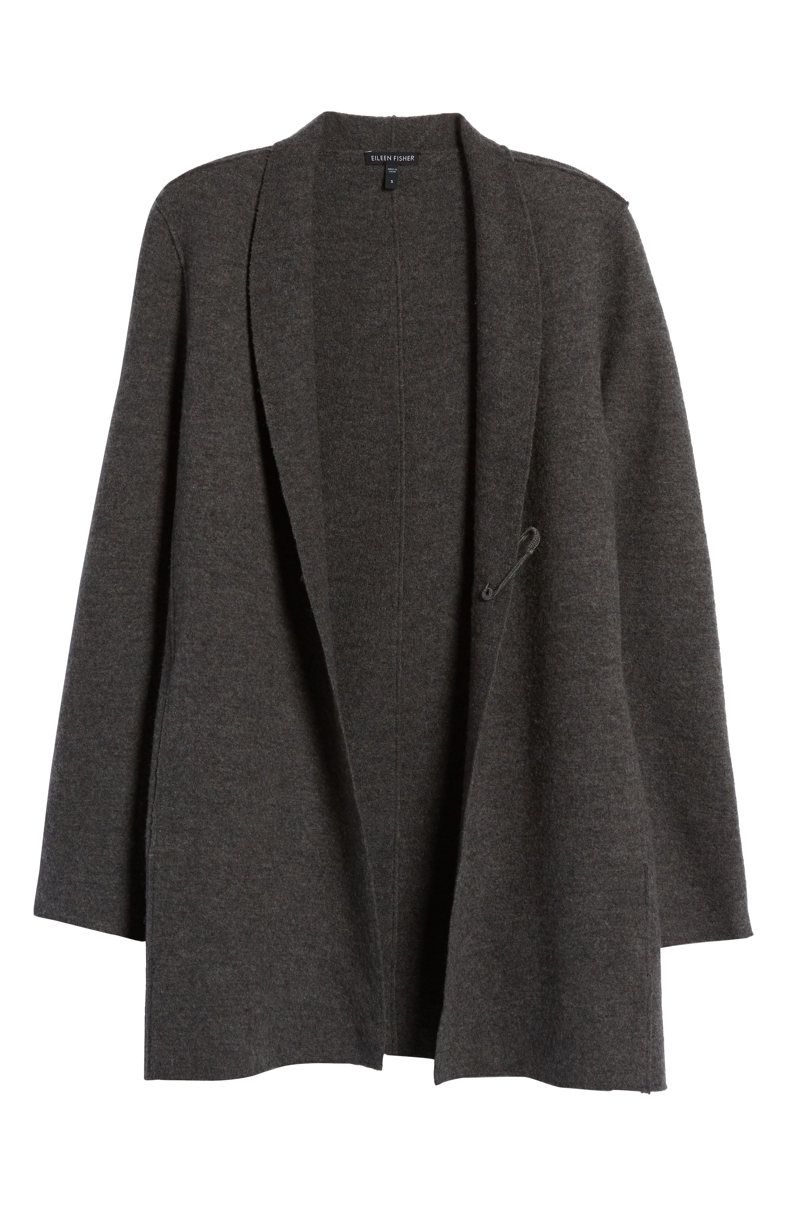 Alternate Image 6  - Eileen Fisher Boiled Wool Jacket